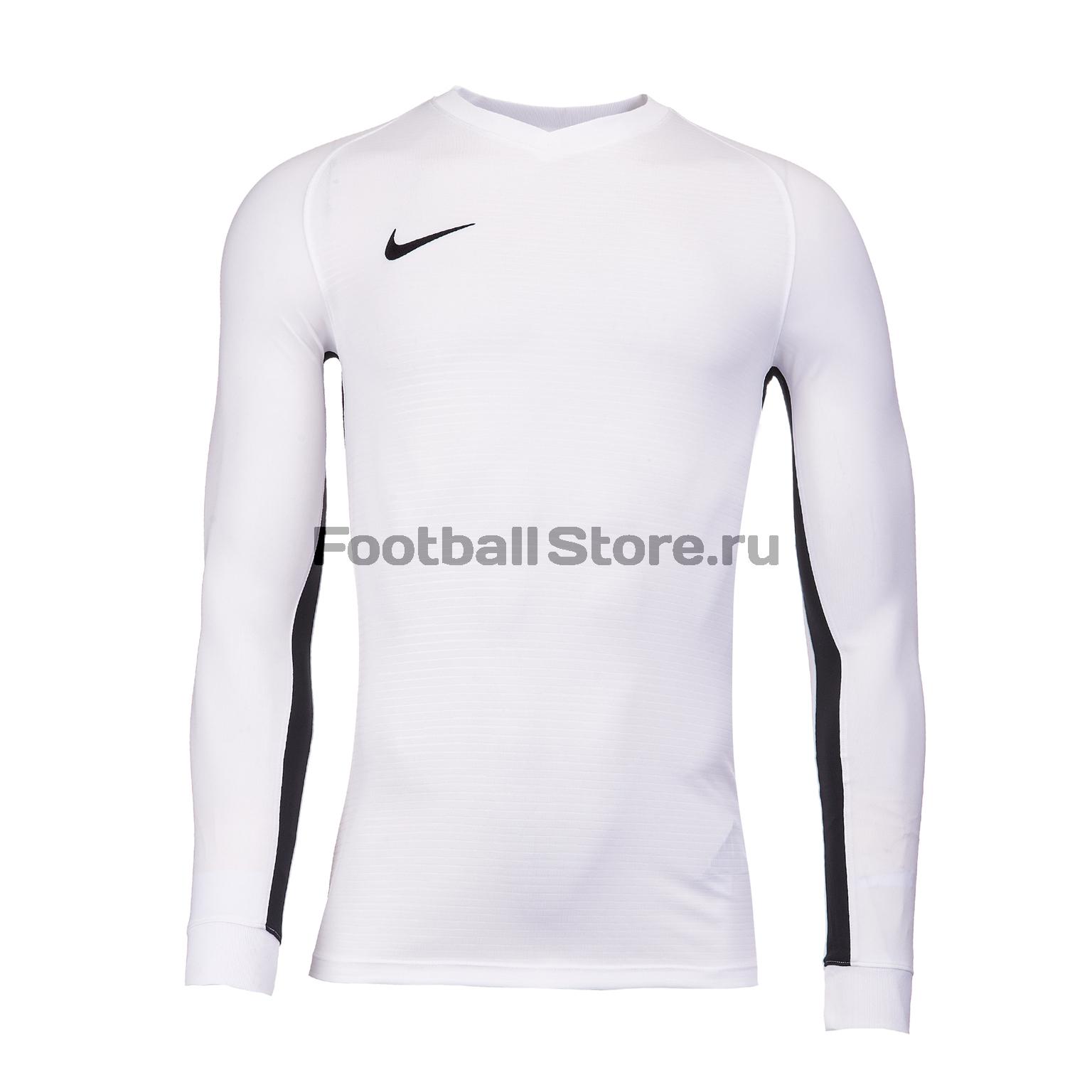Футболка игровая Nike Dry Tiempo Prem JSY LS 894248-100 футболка игровая nike dry tiempo prem jsy ss 894230 010
