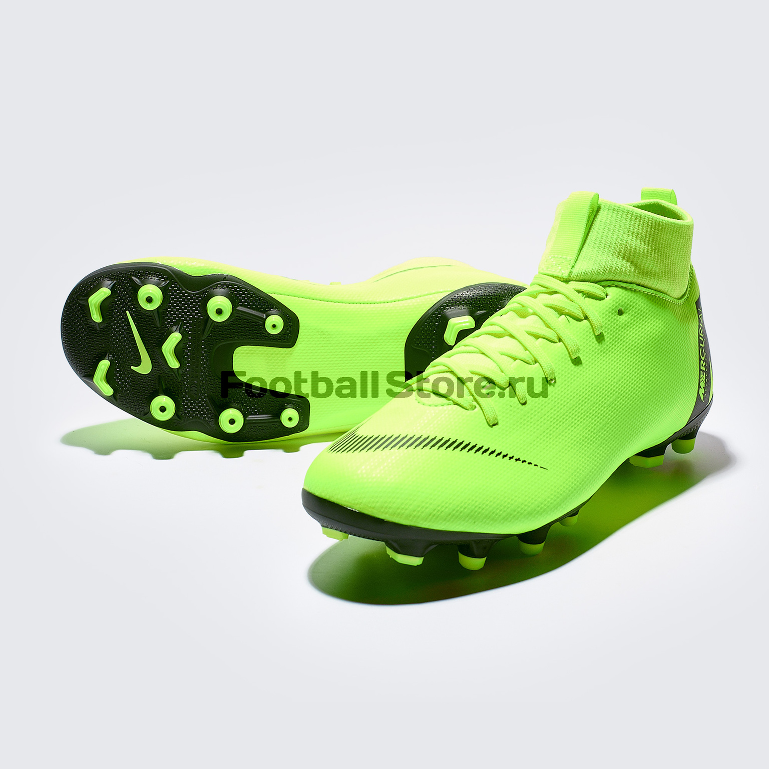 Бутсы детские Nike Superfly 6 Academy GS FG/MG AH7337-701 бутсы детские nike superfly academy gs cr7 fg mg aj3111 600