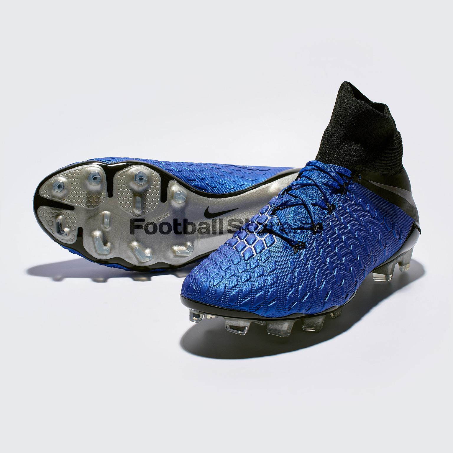 Бутсы Nike Hypervenom 3 Elite DF FG AJ3803-400 футболка найк