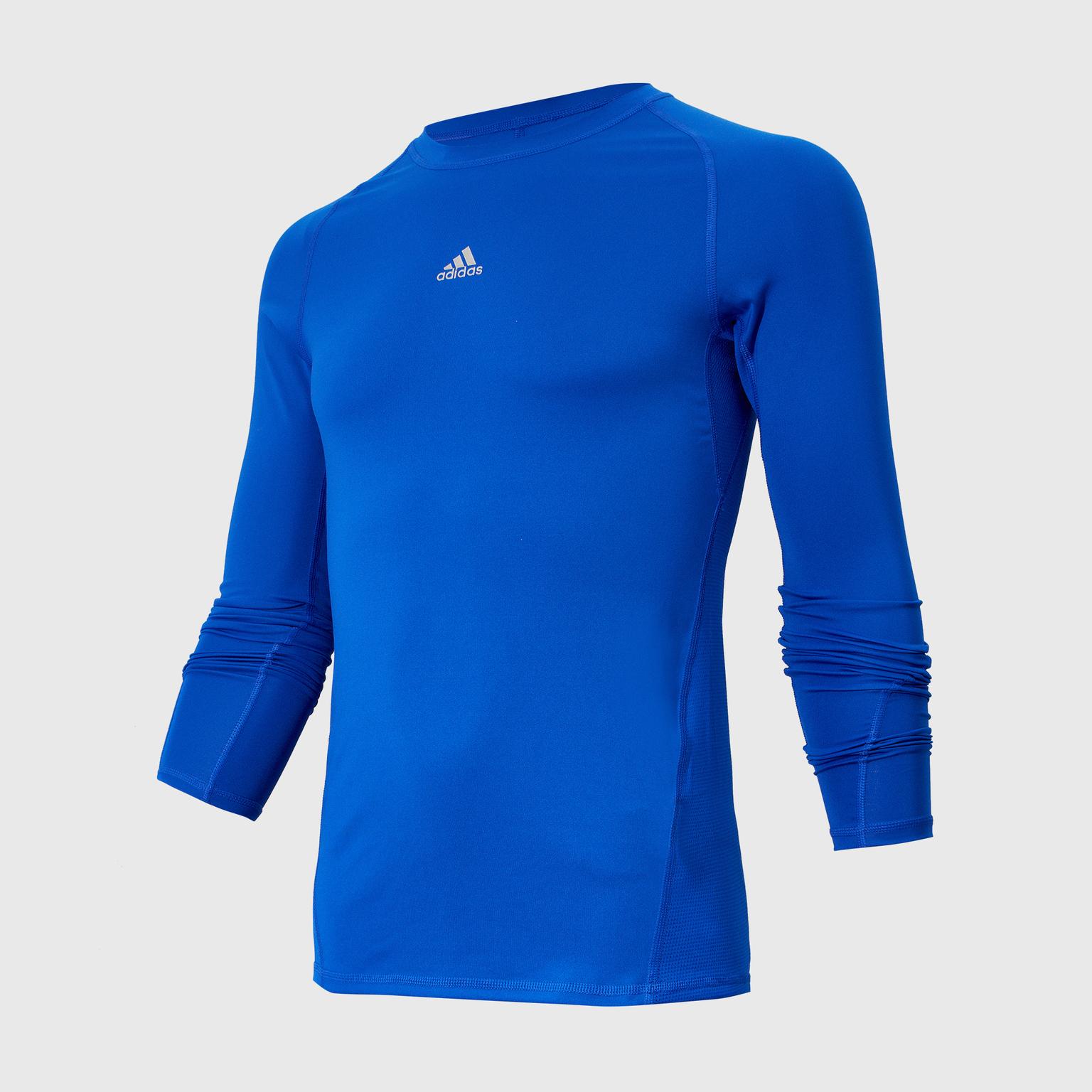 Белье футболка подростковая Adidas LS Tee CW7323 square neck crop tee