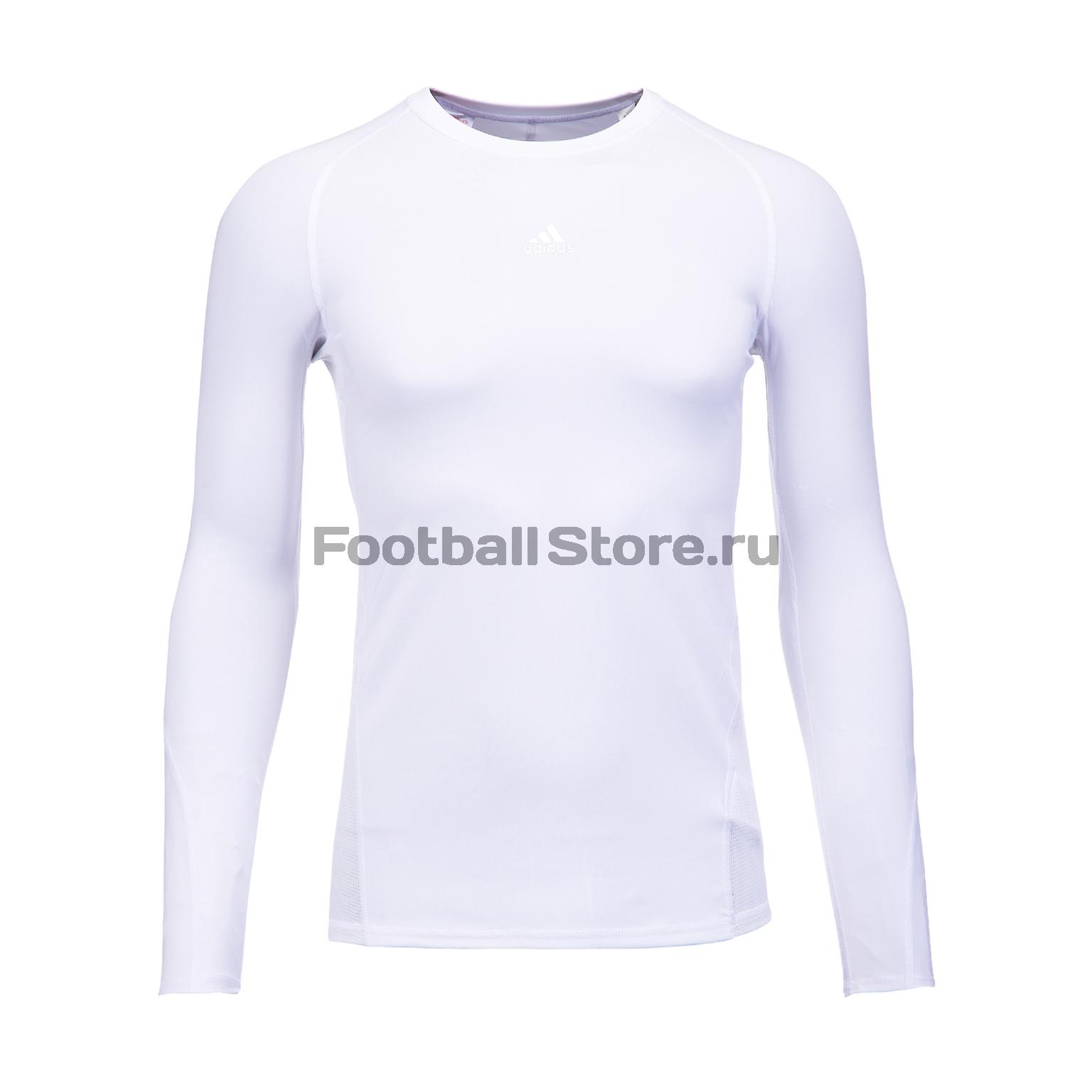 Белье футболка подростковая Adidas LS Tee CW7325 все цены