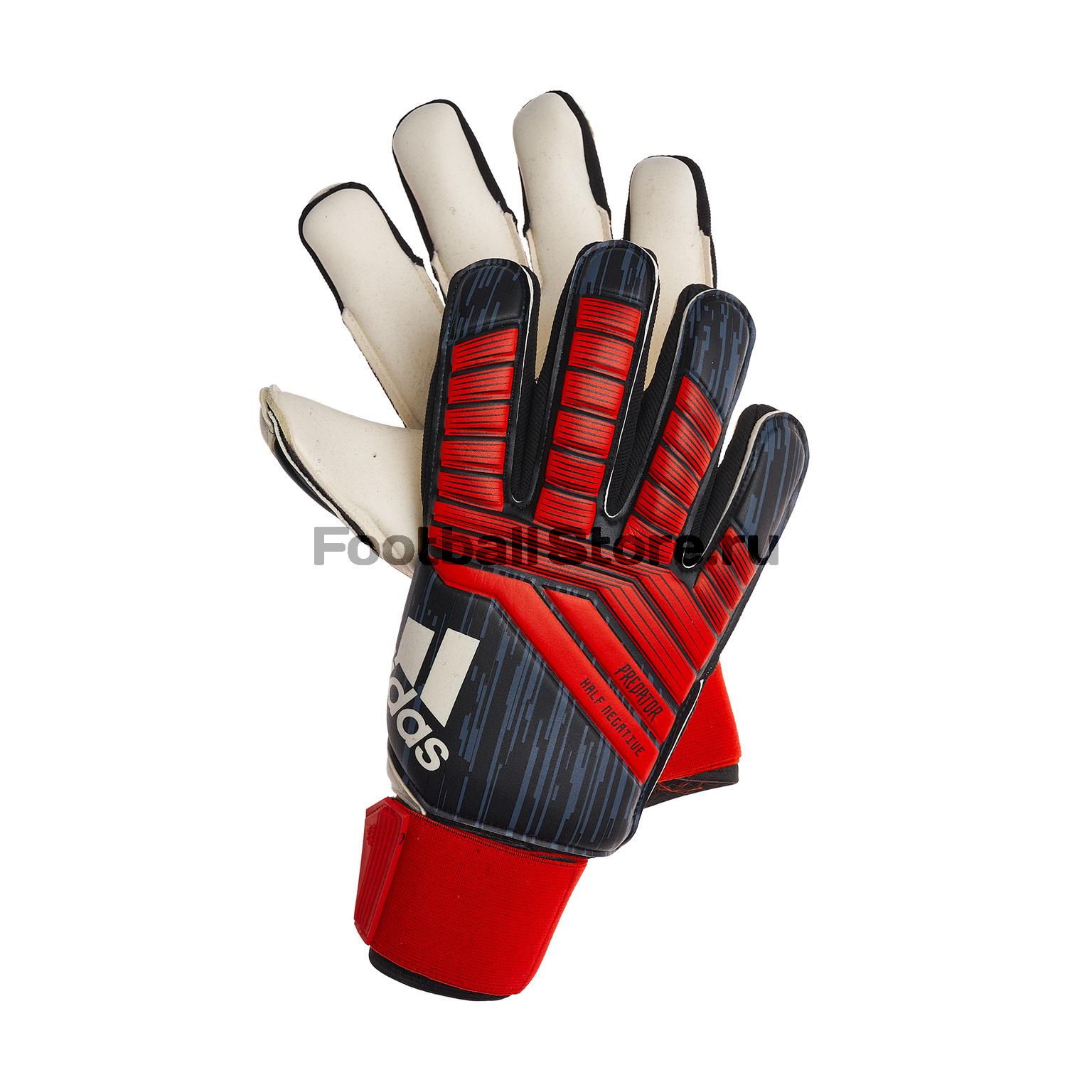 Перчатки вратарские Adidas Predator Half N CW5593 цена