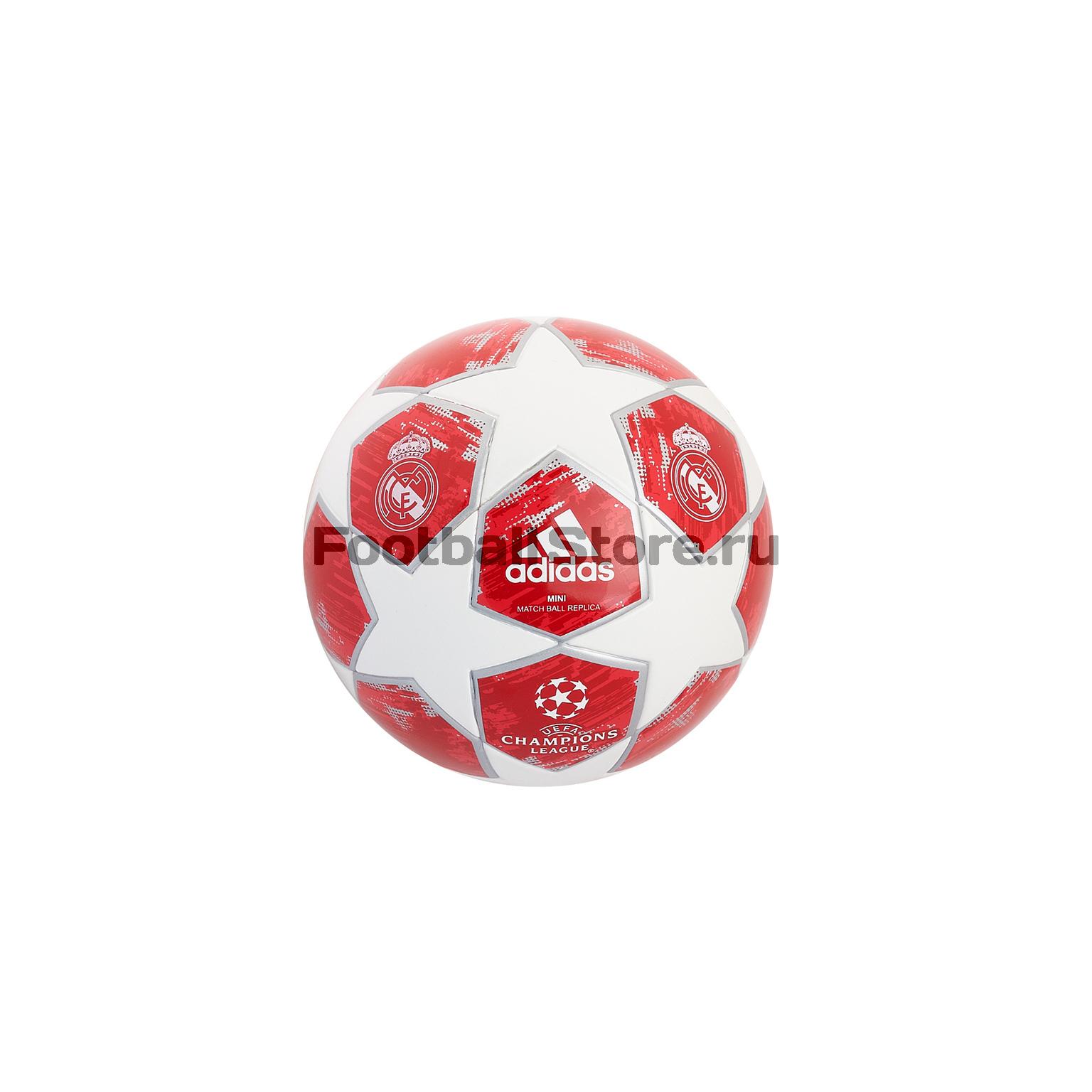Мяч сувенирный Adidas Real Madrid CW4137 рюкзак adidas real madrid cy5597