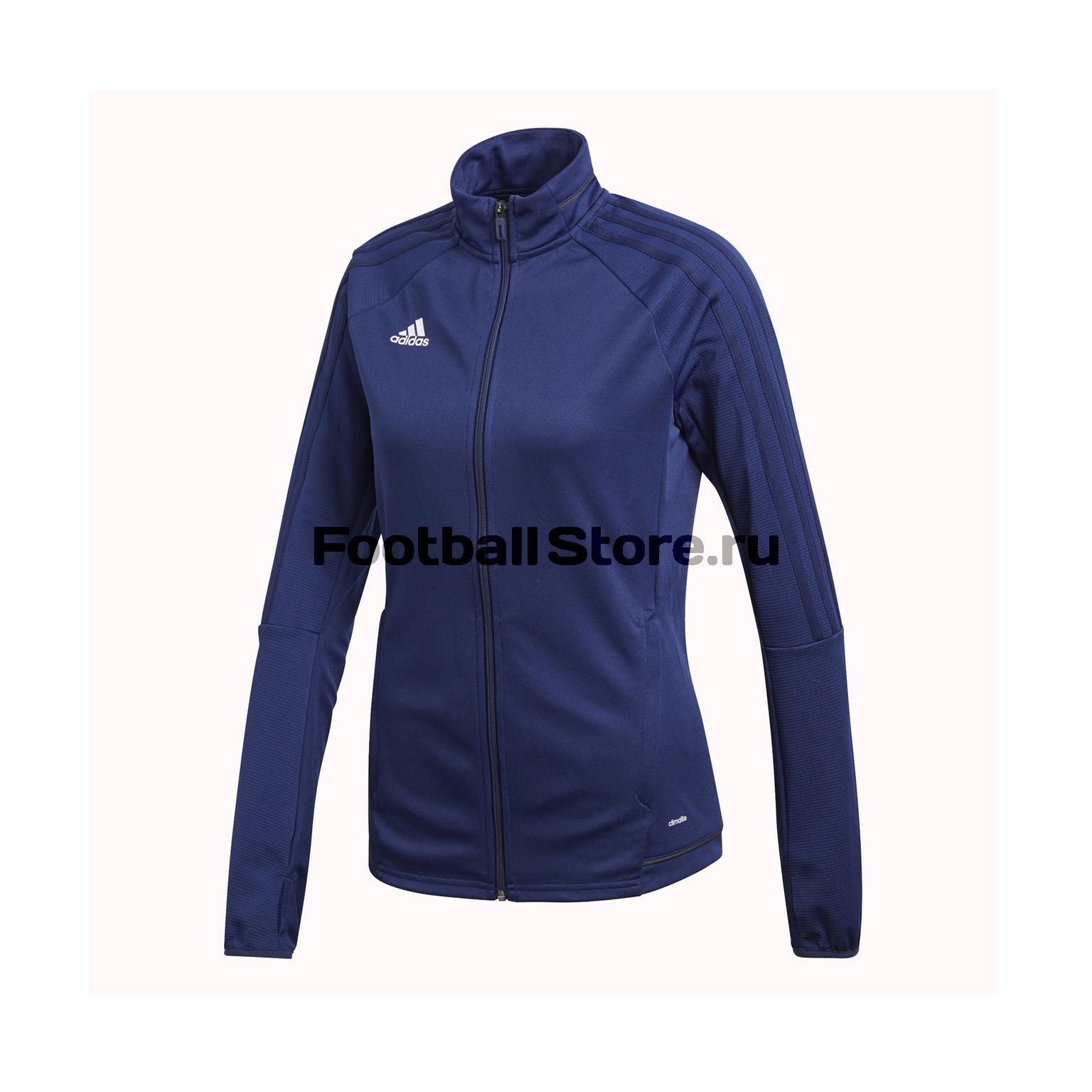 купить Олимпийка женская Adidas Tiro17 BQ8248 по цене 2299 рублей