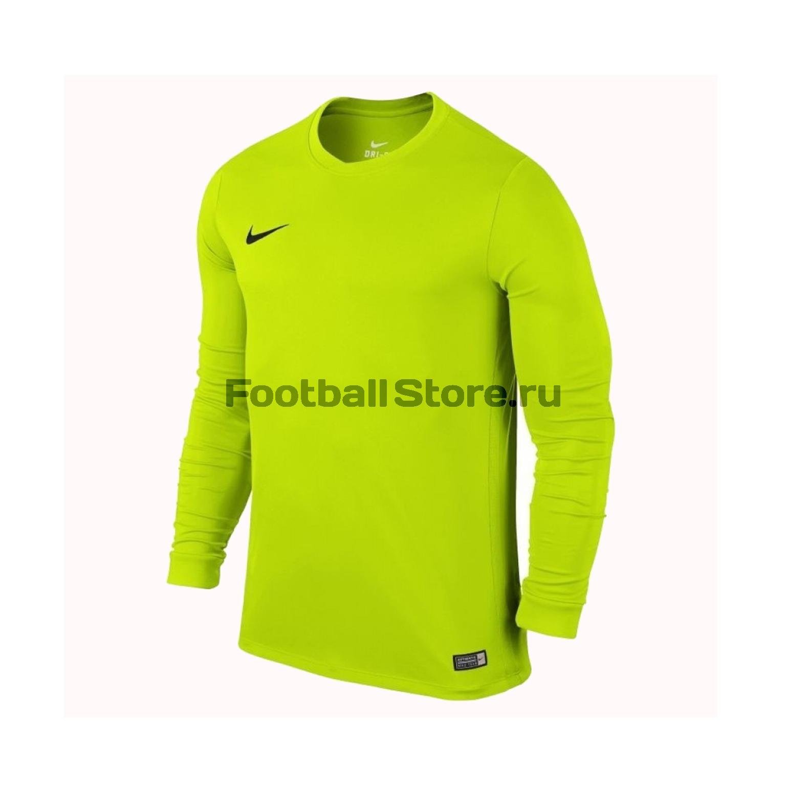 Футболка игровая Nike LS Park VI JSY 725884-702 футболка игровая nike dry tiempo prem jsy ss 894230 057