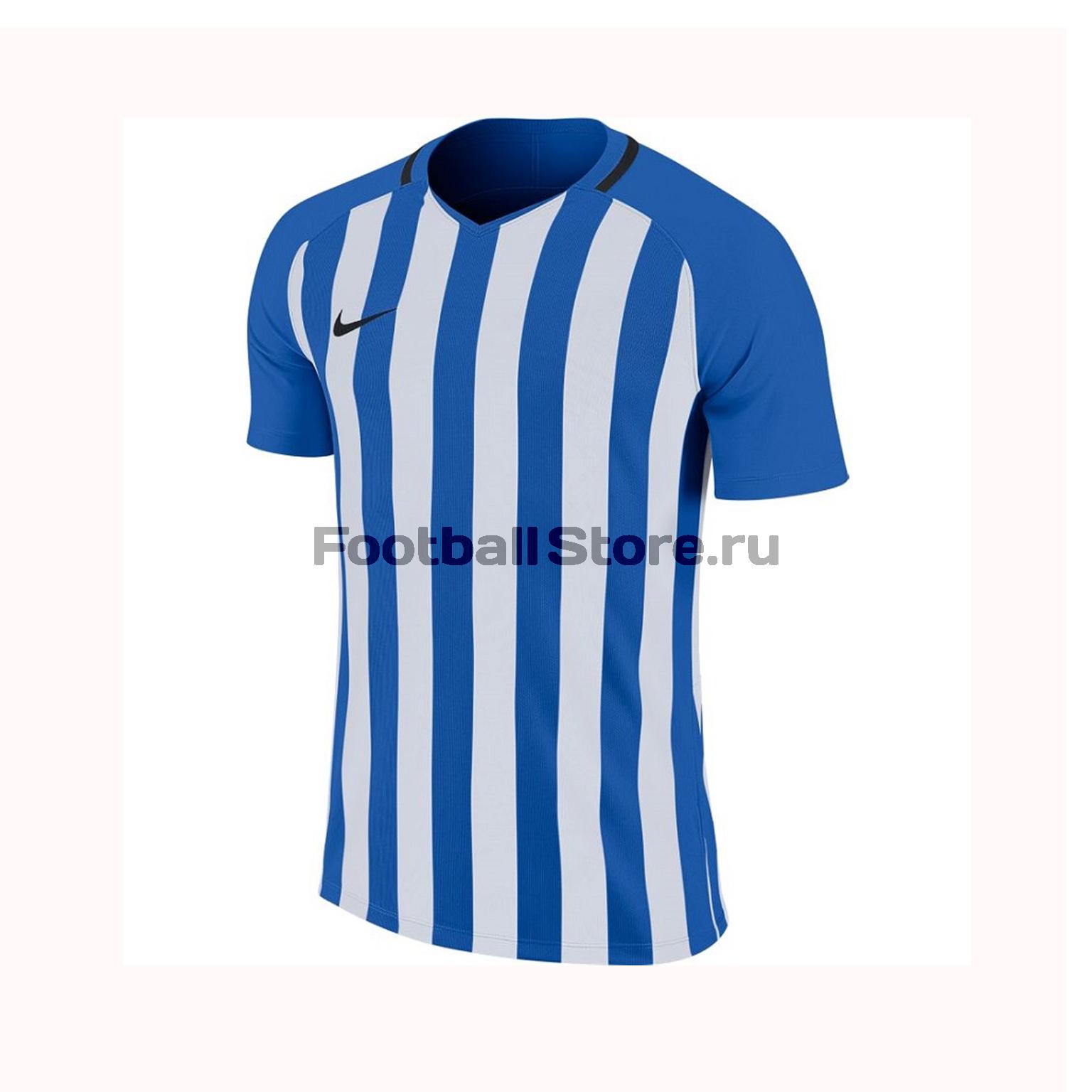 Футболка игровая Nike Striped Division III SS 894081-464 футболка игровая nike dry tiempo prem jsy ss 894230 411