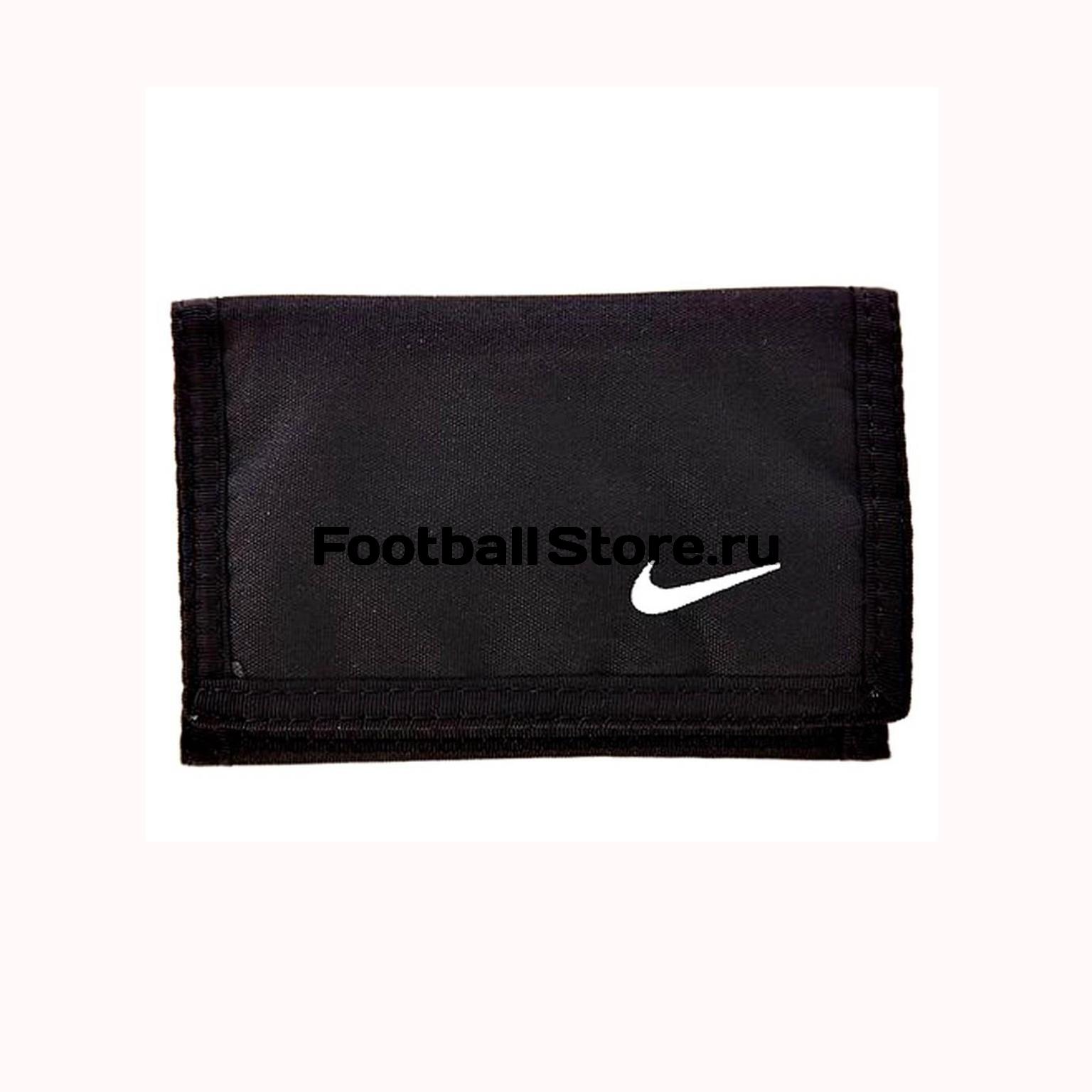 Кошелек Nike Basic Wallet N.IA.08.068.NS cкакалка nike weighted rope 2 0 ns grey black bright citrus