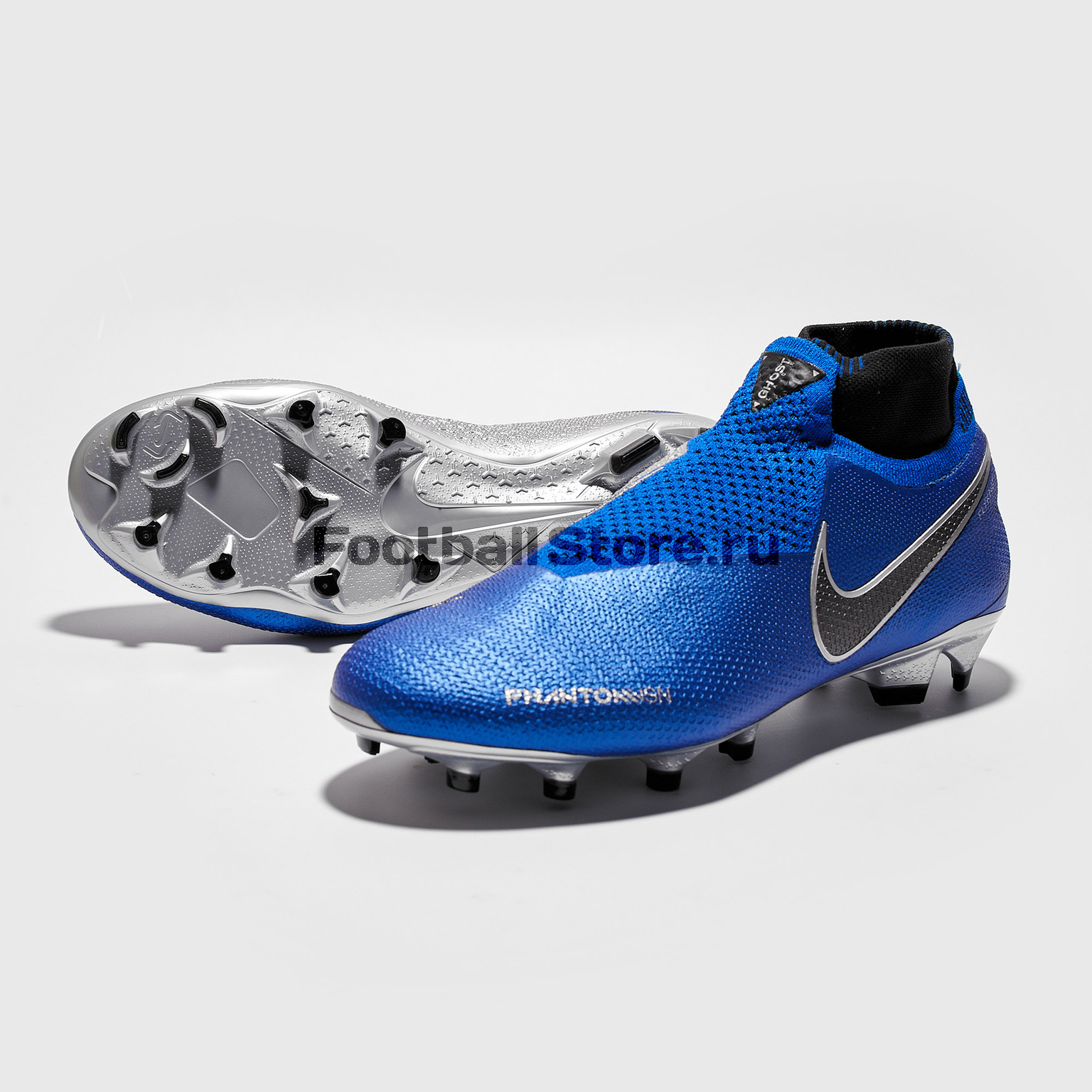 Бутсы Nike Phantom Vision Elite DF FG AO3262-400 бутсы nike mercurial victory iii fg 509128 800