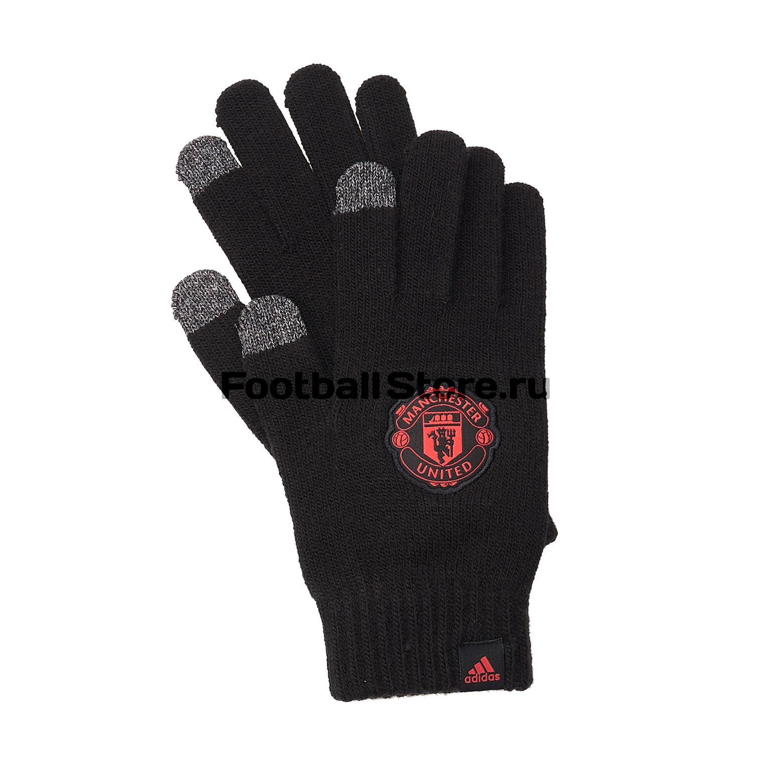 Перчатки тренировочные Adidas Manchester United CY5595 все цены