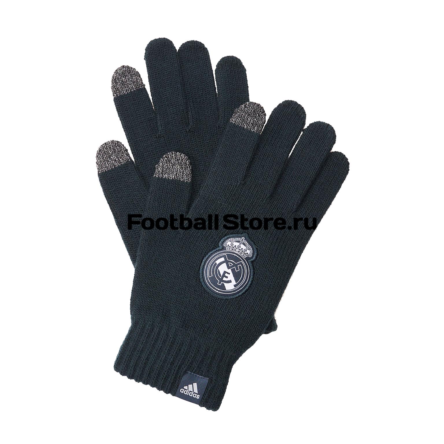 Перчатки тренировочные Adidas Real Madrid CY5616 все цены