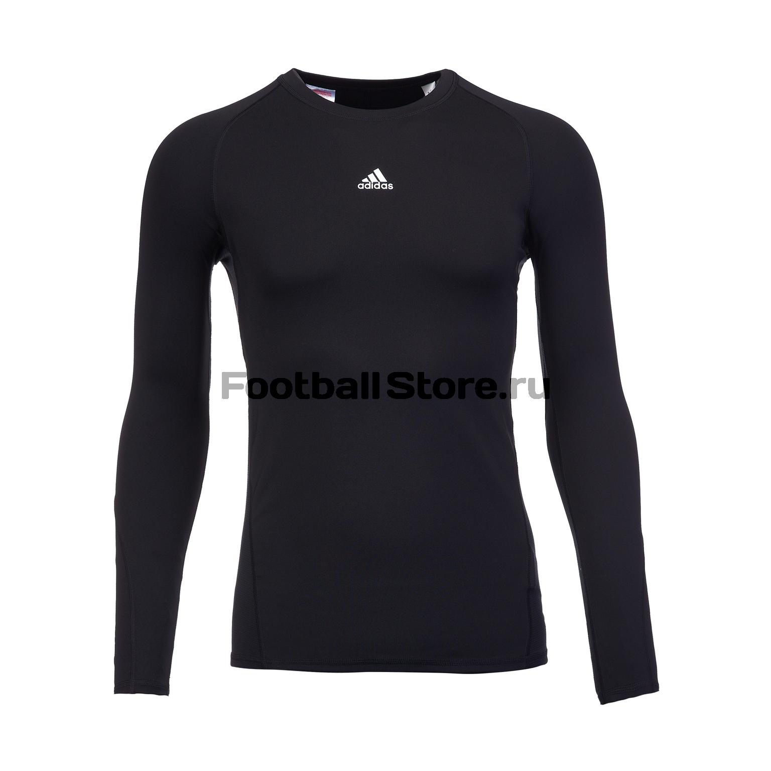 Белье футболка подростковая Adidas LS Tee CW7324 все цены