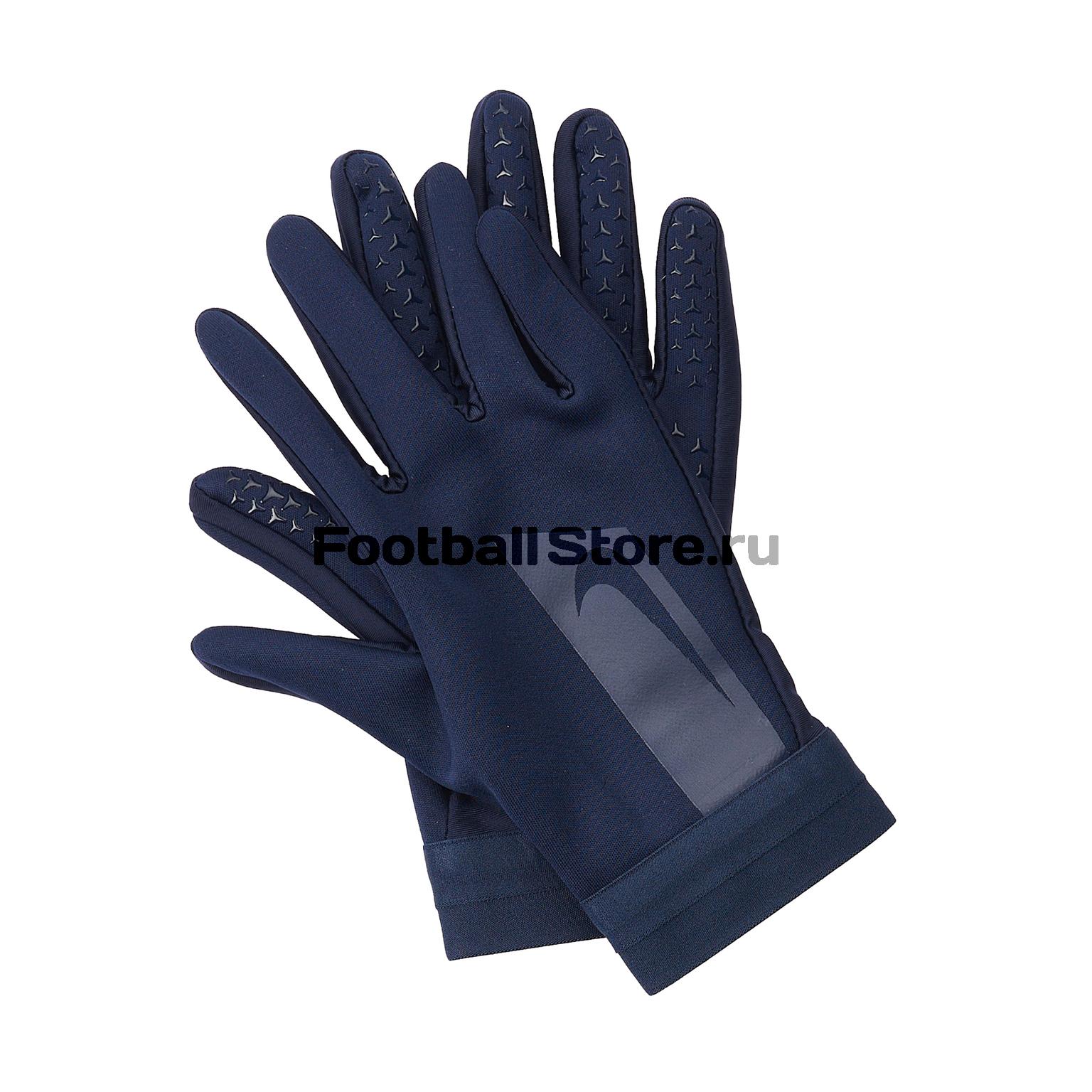 Перчатки тренировочные Nike Academy Hyperwarm GS0373-451 перчатки мма everlast перчатки тренировочные prime mma l xl