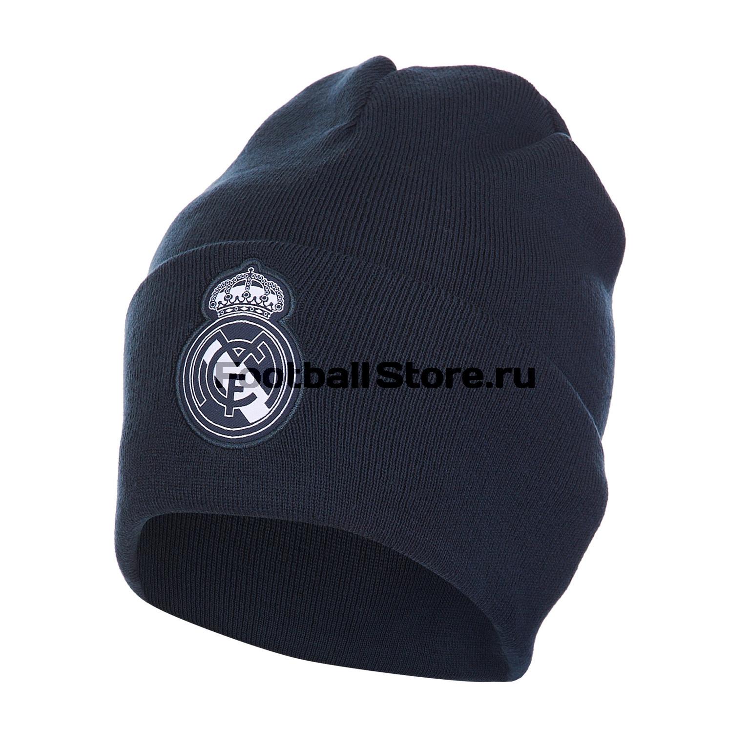 Шапка Addias Real Madrid 3S Woolie CY5599 mutua madrid open pass