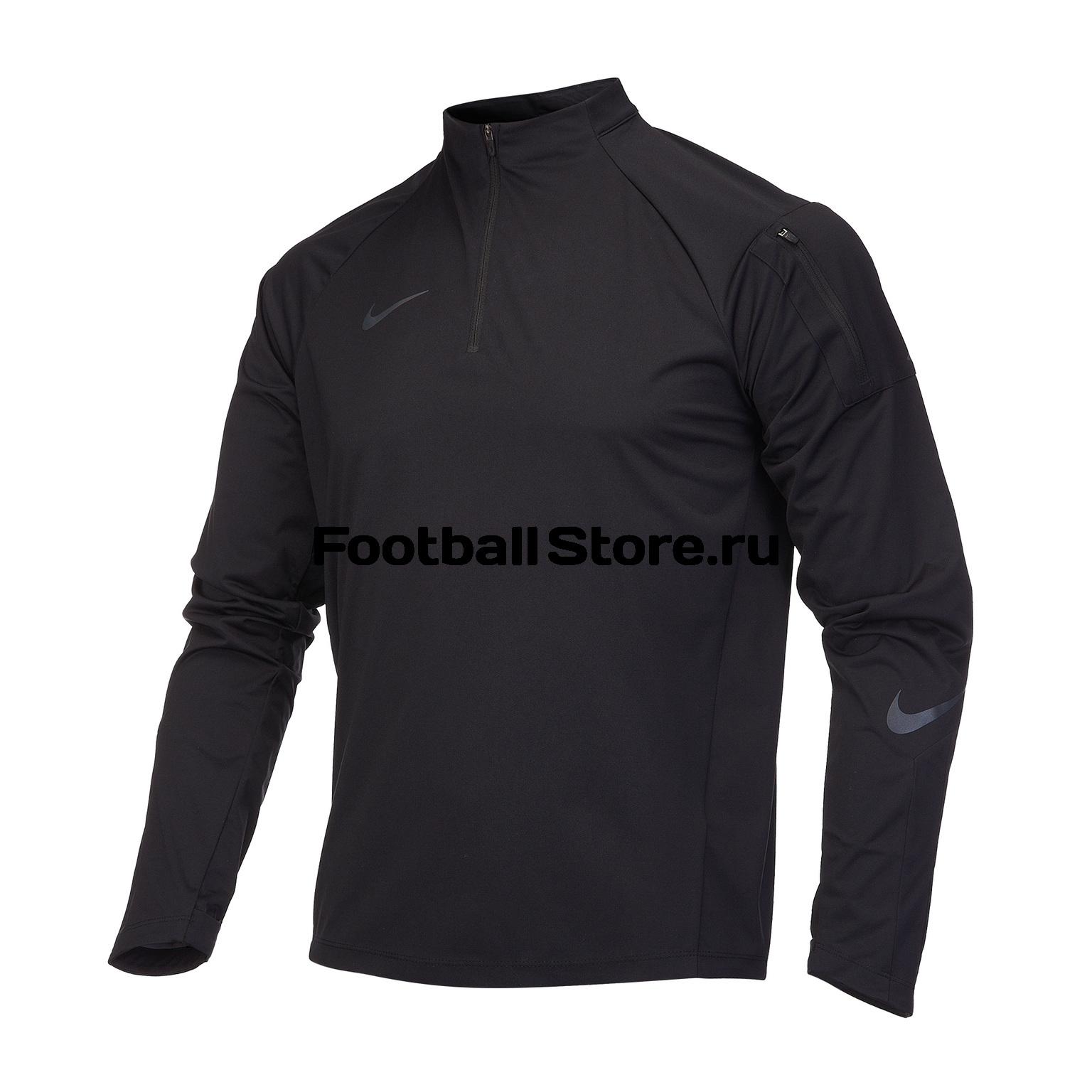 цена на Свитер тренировочный подростковый Nike Dril Top AJ3676-010