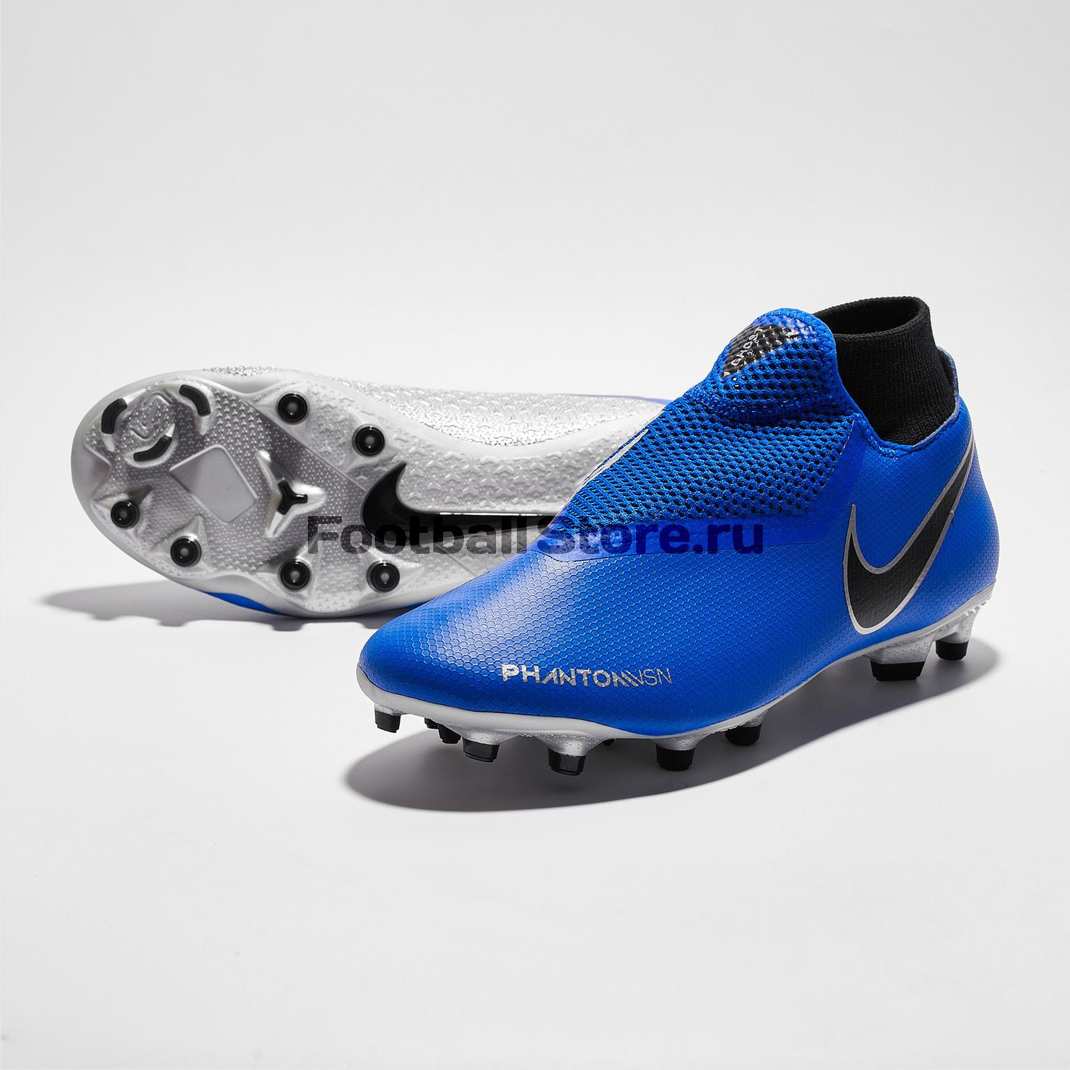 Бутсы Nike Phantom 3 Academy DF MG AO3258-400 бутсы nike phantom 3 academy df fg ah7268 081