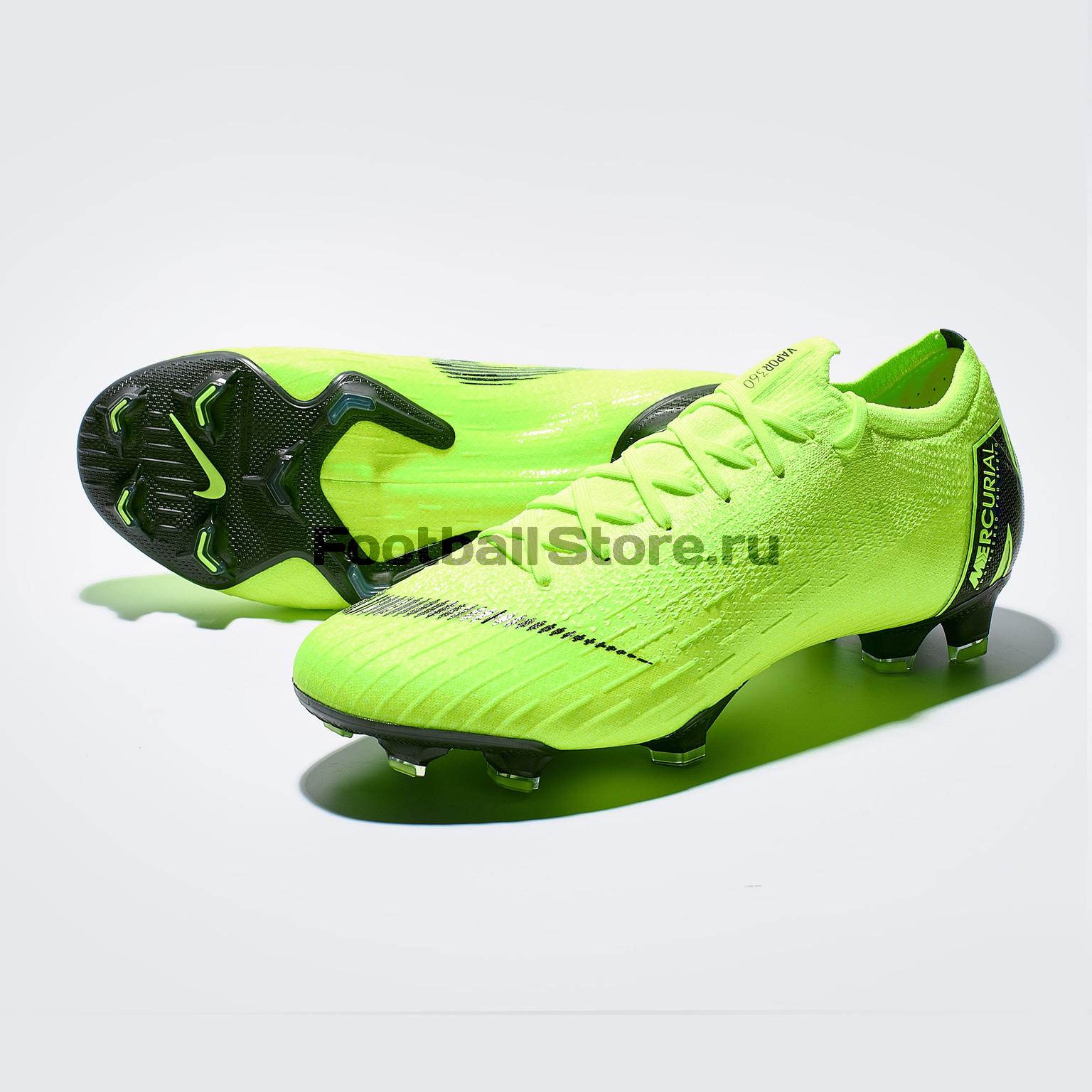 Бутсы Nike Vapor 12 Elite FG AH7380-701 игровые бутсы nike бутсы nike mercurial vapor xi neymar fg 921547 407