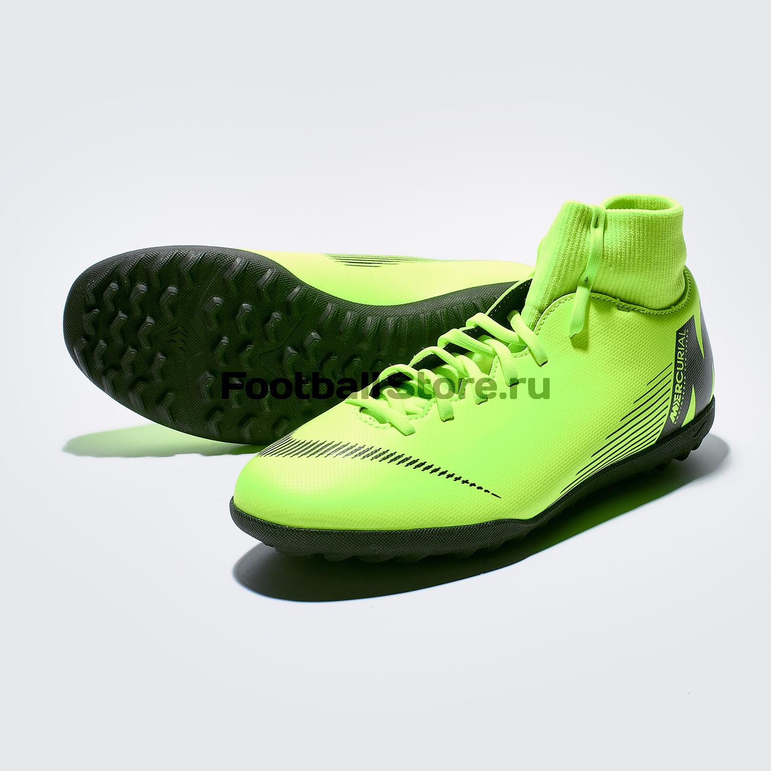 Шиповки Nike SuperflyX 6 Club TF AH7372-701 бутсы nike шиповки nike jr tiempox legend vi tf 819191 018