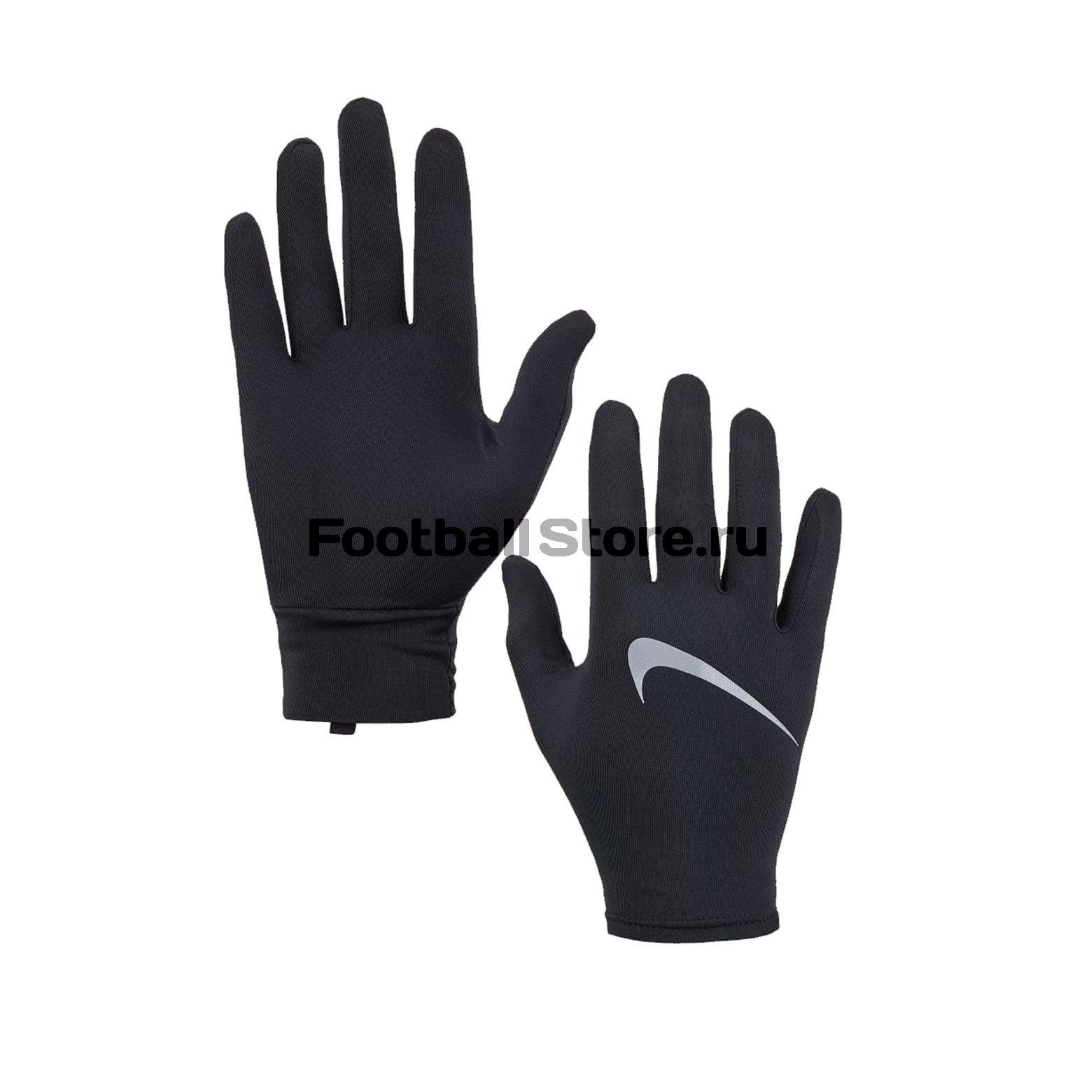 Перчатки тренировочные Nike Miler Running N.RG.L4.042 перчатки тренировочные мужские nike цвет черный серый красный размер l