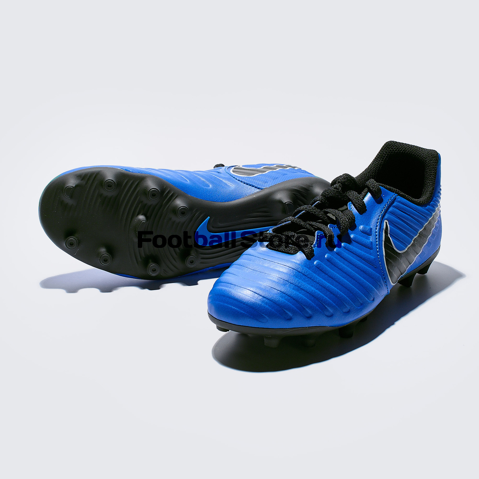 Бутсы детские Nike Legend 7 Club FG AO2300-400 бутсы nike шиповки nike jr tiempox legend vi tf 819191 018