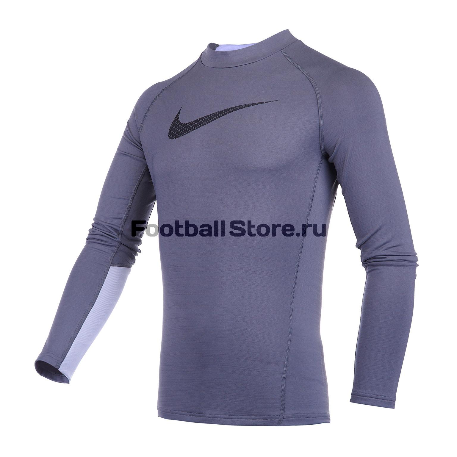 Белье футболка подростковая Nike Warm Top GFX AH3997-021 цена