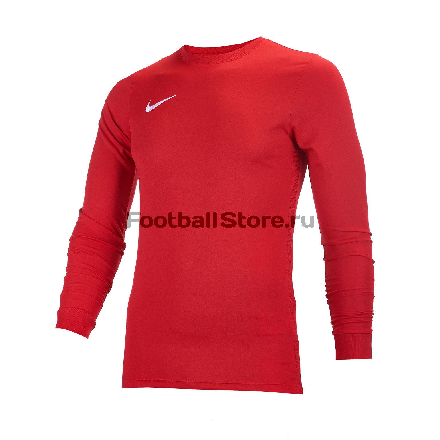 Футболка игровая Nike LS Park VI JSY 725884-657 футболка игровая nike dry tiempo prem jsy ss 894230 057