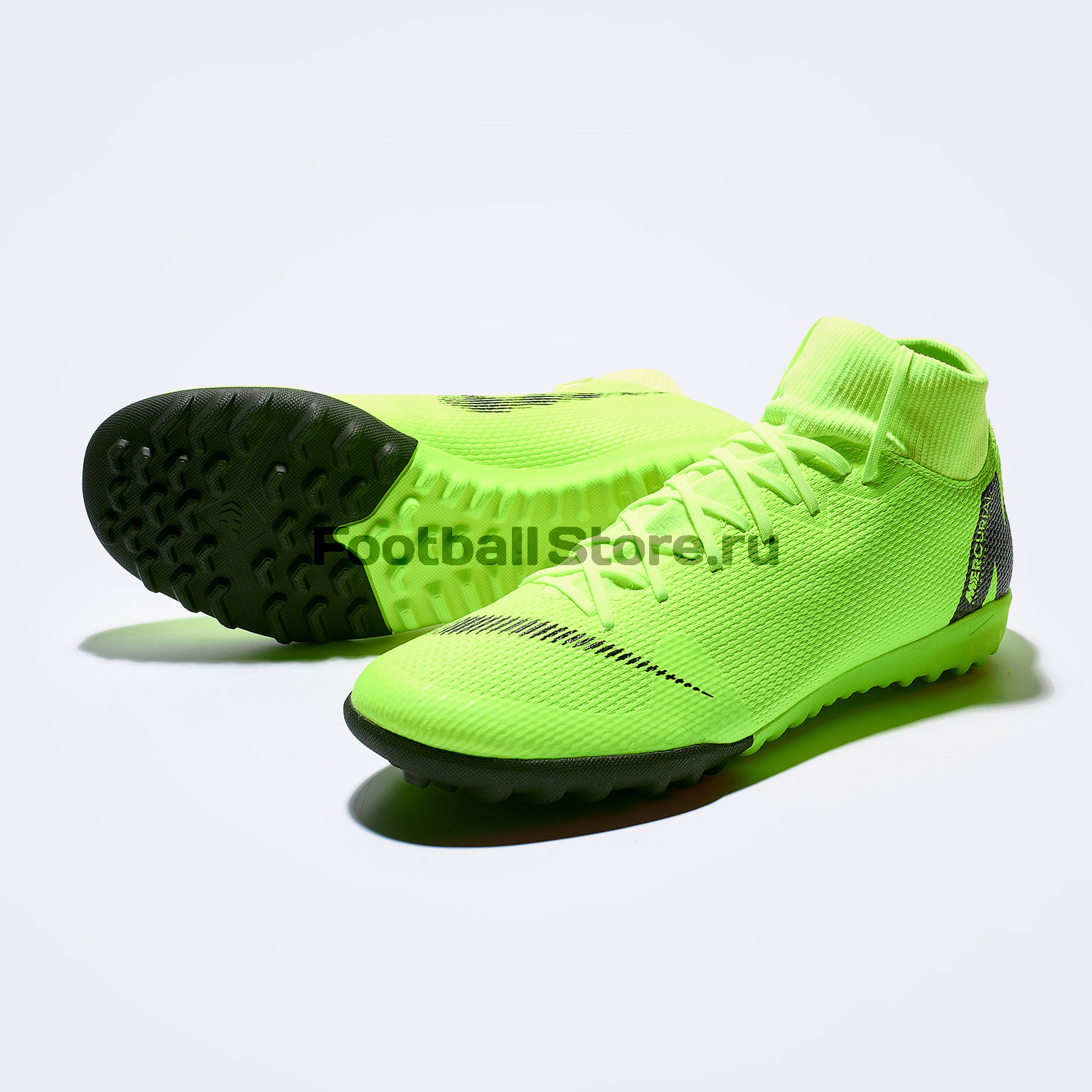 Шиповки Nike SuperFly X 6 Academy TF AH7370-701 бутсы nike шиповки nike jr tiempox legend vi tf 819191 018