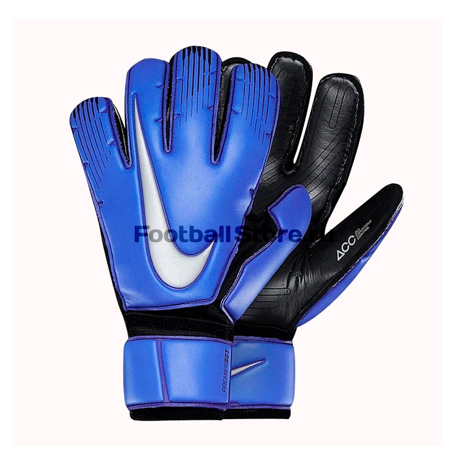 Перчатки вратарские Nike Premier GS0376-410 недорго, оригинальная цена