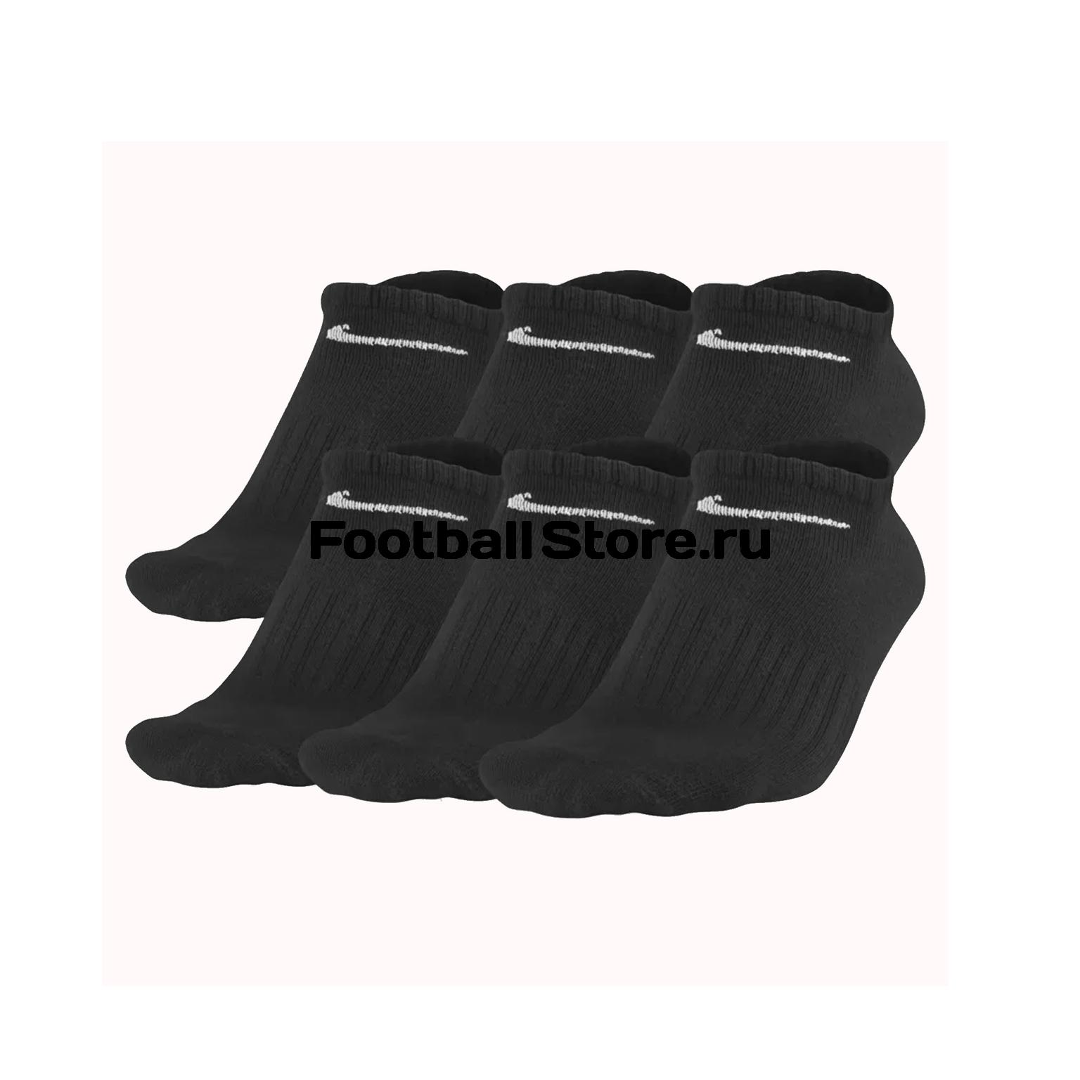 Комплект носков Nike 6PR SX4466-001 комплект носков nike 3ppk lightweight сrew sx4704 901