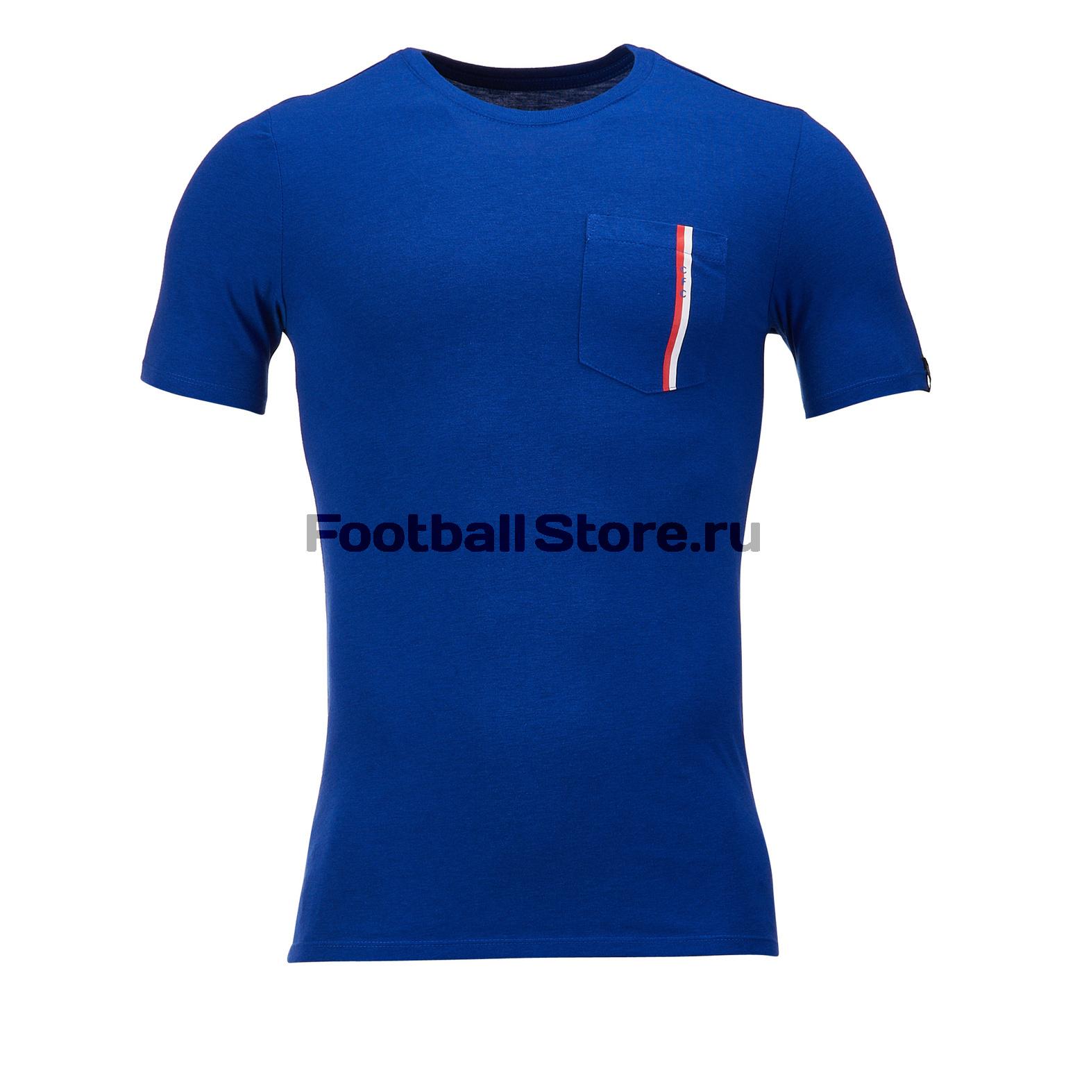 Футболка хлопковая Nike Chelsea Tee Travel AA5411-495 футболка хлопковая nike tee club19 ss aj1504 451