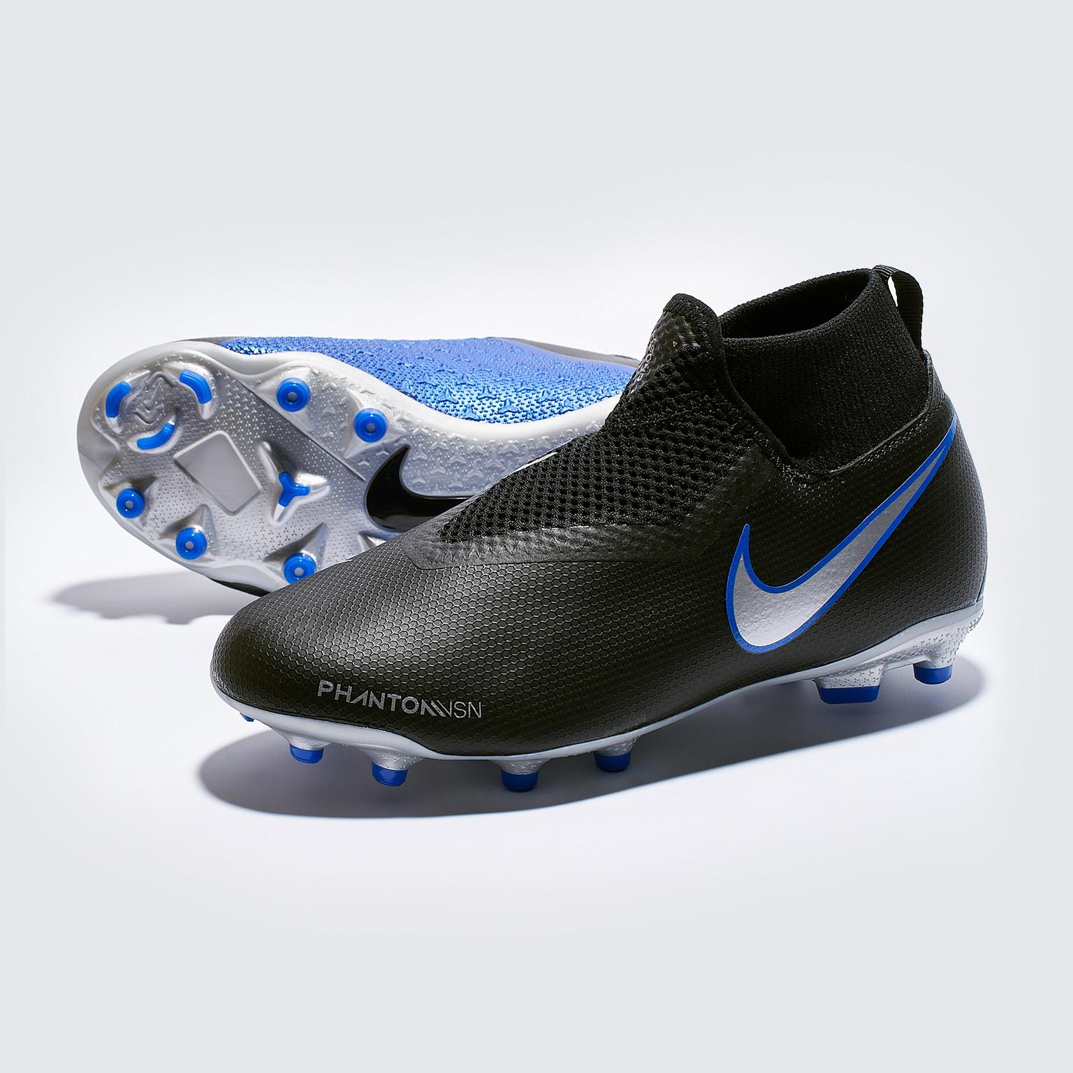 Бутсы детские Nike Pantom Vision Academy DF FG/MG AO3287-004 nike бутсы мужские nike vapor 12 club cr7 mg