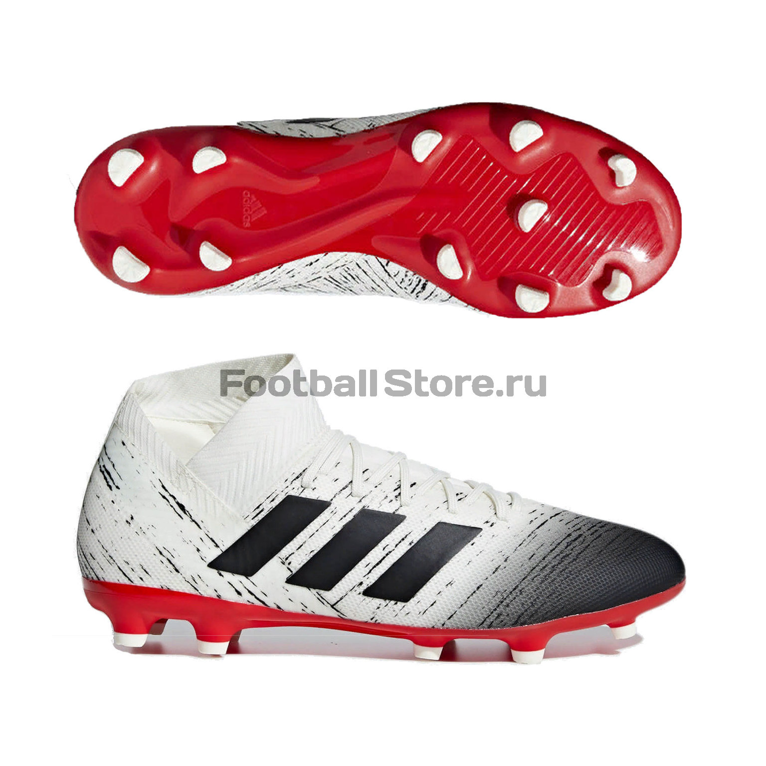 Бутсы Adidas Nemeziz 18.3 FG BB9437 бутсы adidas nemeziz messi 17 1 fg cp9028