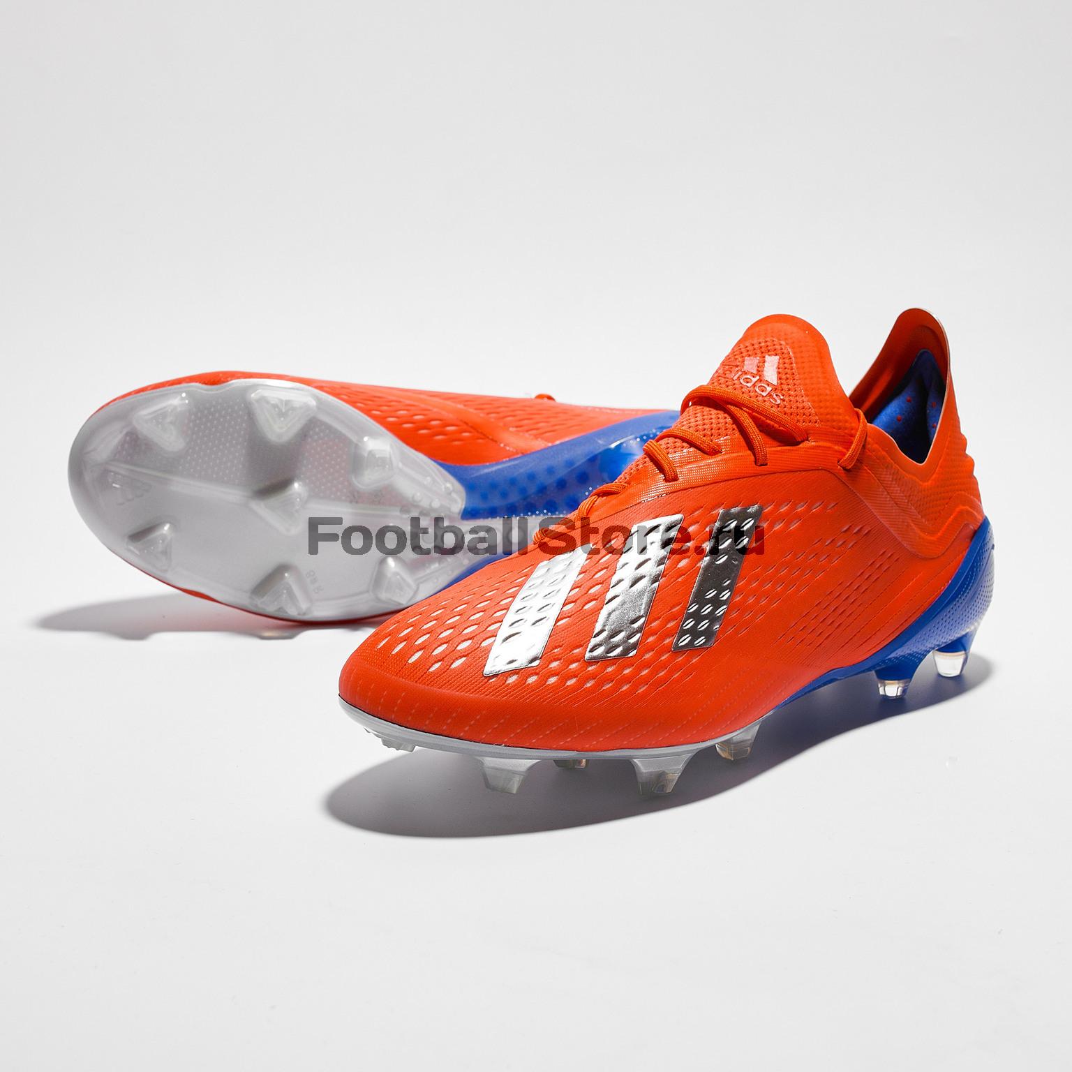 Бутсы Adidas X 18.1 FG BB9347 бутсы adidas x 17 1 fg bb6353