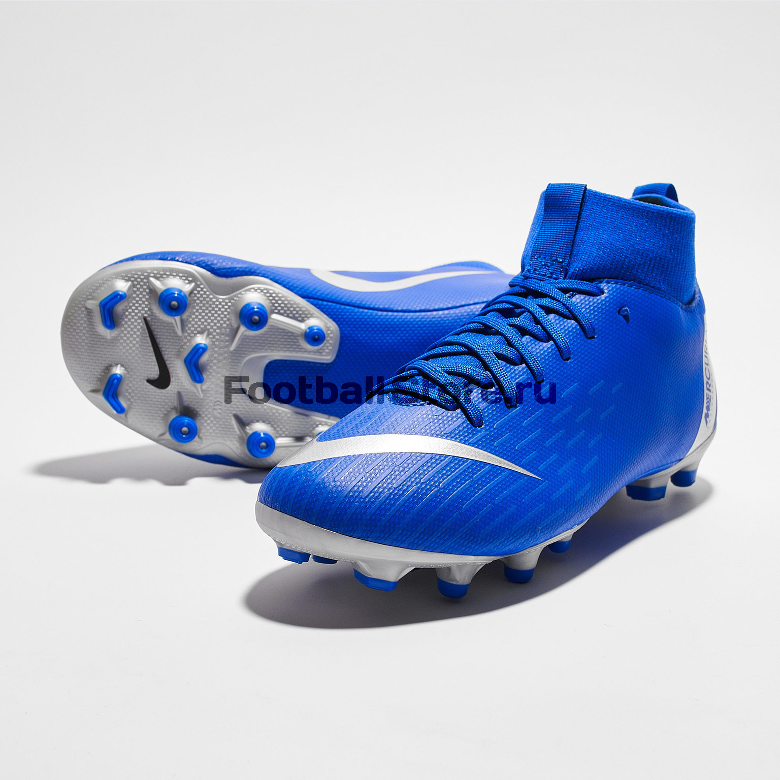 Бутсы детские Nike Superfly 6 Academy GS FG/MG AH7337-400 бутсы детские nike superfly academy gs cr7 fg mg aj3111 600