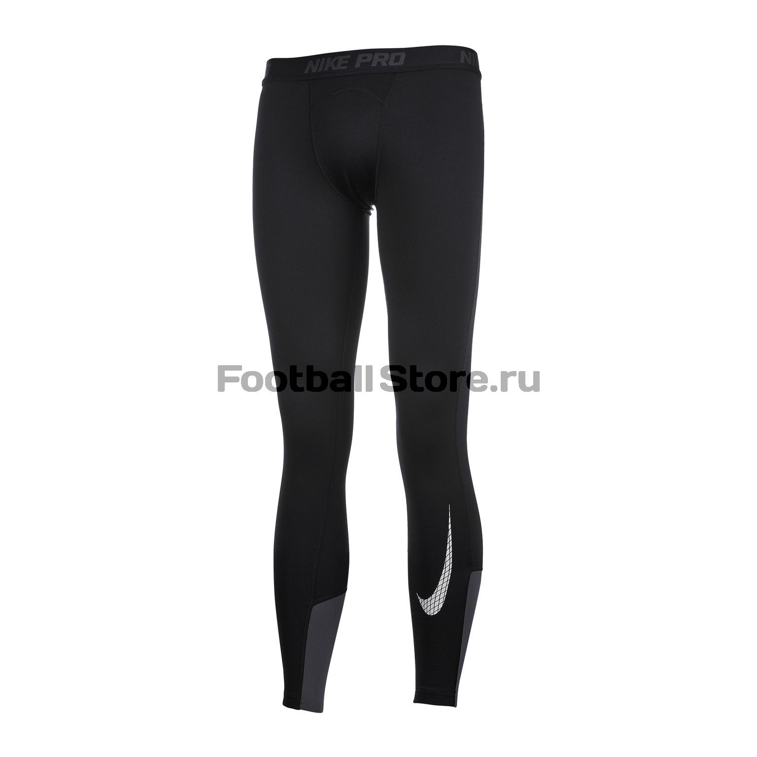 Белье лосины подростковые Nike Warm 939576-010 нижнее белье nike 654876 341 pro combat