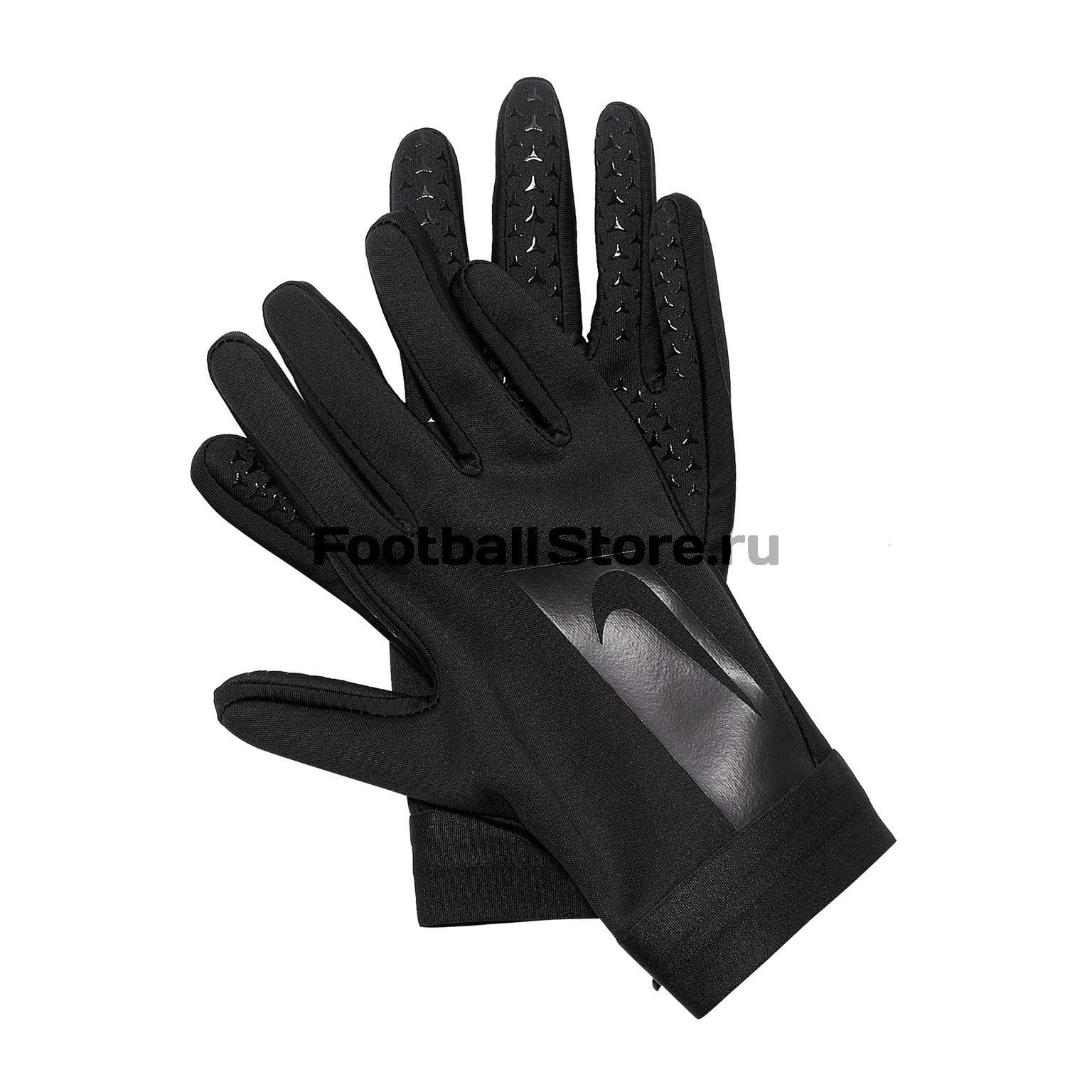 Перчатки тренировочные Nike Academy Hyperwarm GS0373-011 перчатки тренировочные мужские nike цвет черный серый красный размер l