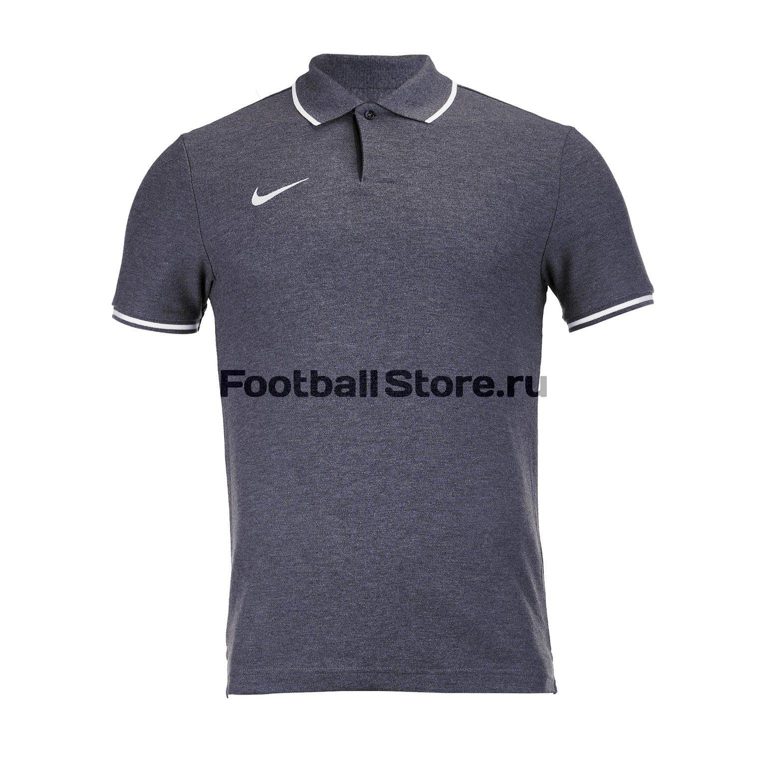 Поло Nike M Polo Club19 SS AJ1502-071 футболка хлопковая nike tee club19 ss aj1504 451