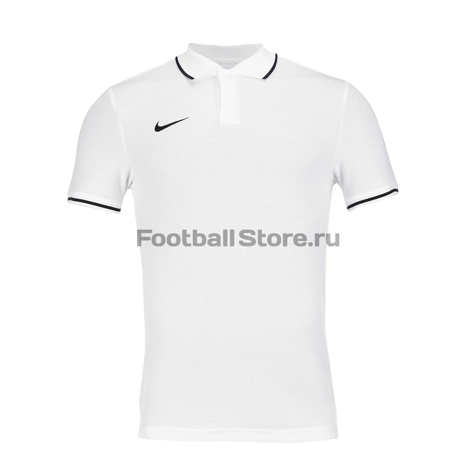 Поло Nike M Polo Club19 SS AJ1502-100 футболка хлопковая nike tee club19 ss aj1504 451