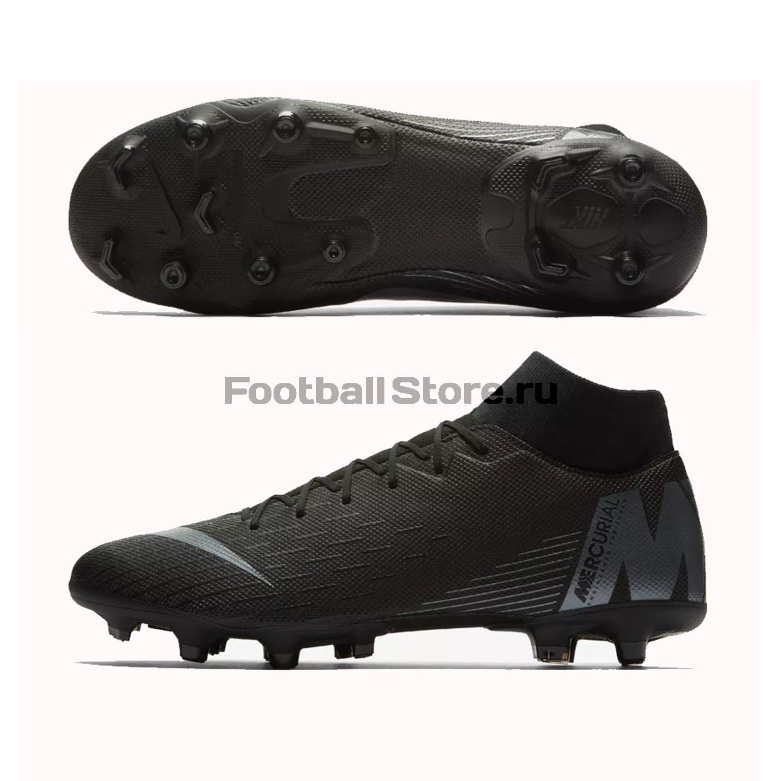 Бутсы Nike Superfly 6 Academy FG/MG AH7362-001 бутсы детские nike superfly academy gs cr7 fg mg aj3111 600