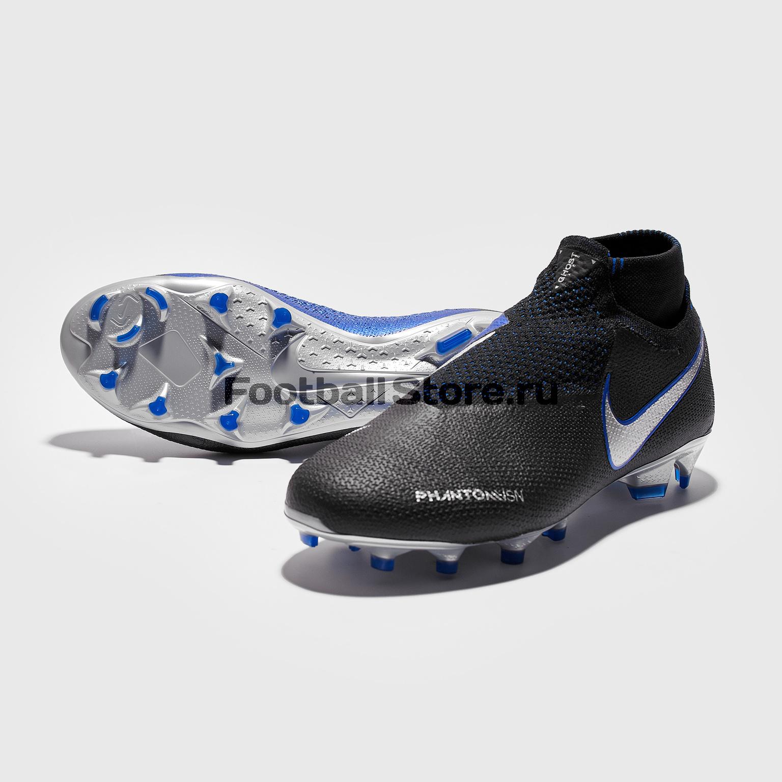 Бутсы Nike Phantom Vision Elite DF FG AO3262-004 бутсы детские nike phantom vision elite df fg mg ao3289 600