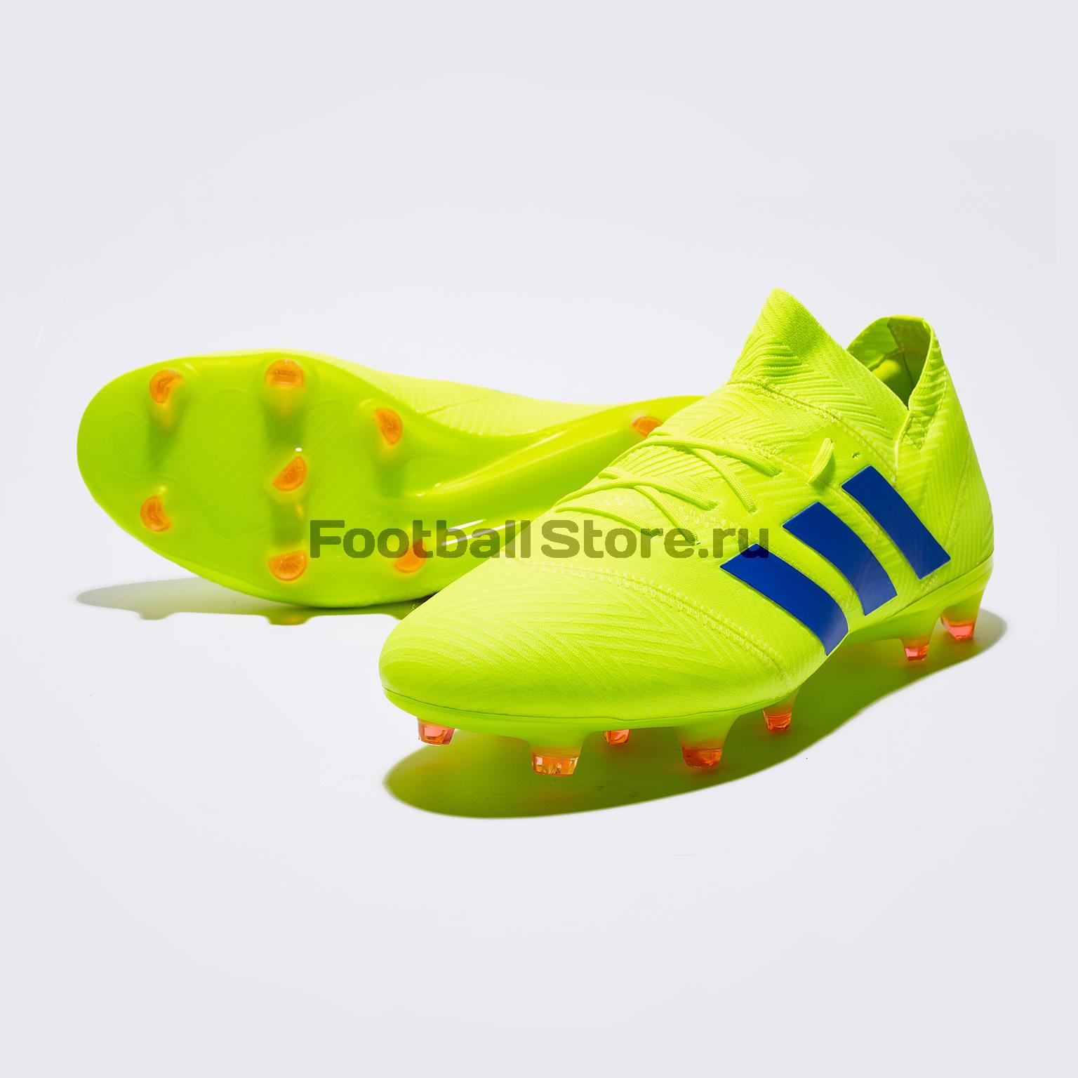 Бутсы Adidas Nemeziz 18.1 FG BB9426 бутсы adidas nemeziz messi 17 1 fg cp9028