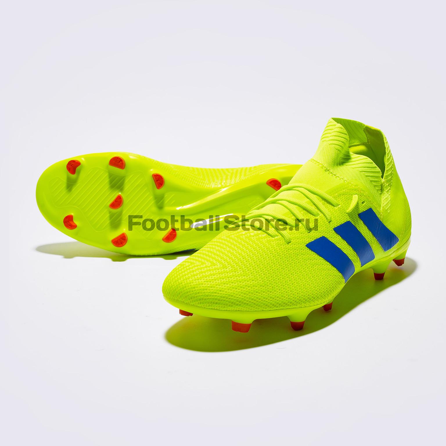Бутсы Adidas Nemeziz 18.3 FG BB9438 бутсы adidas messi 16 1 fg jr bb3852