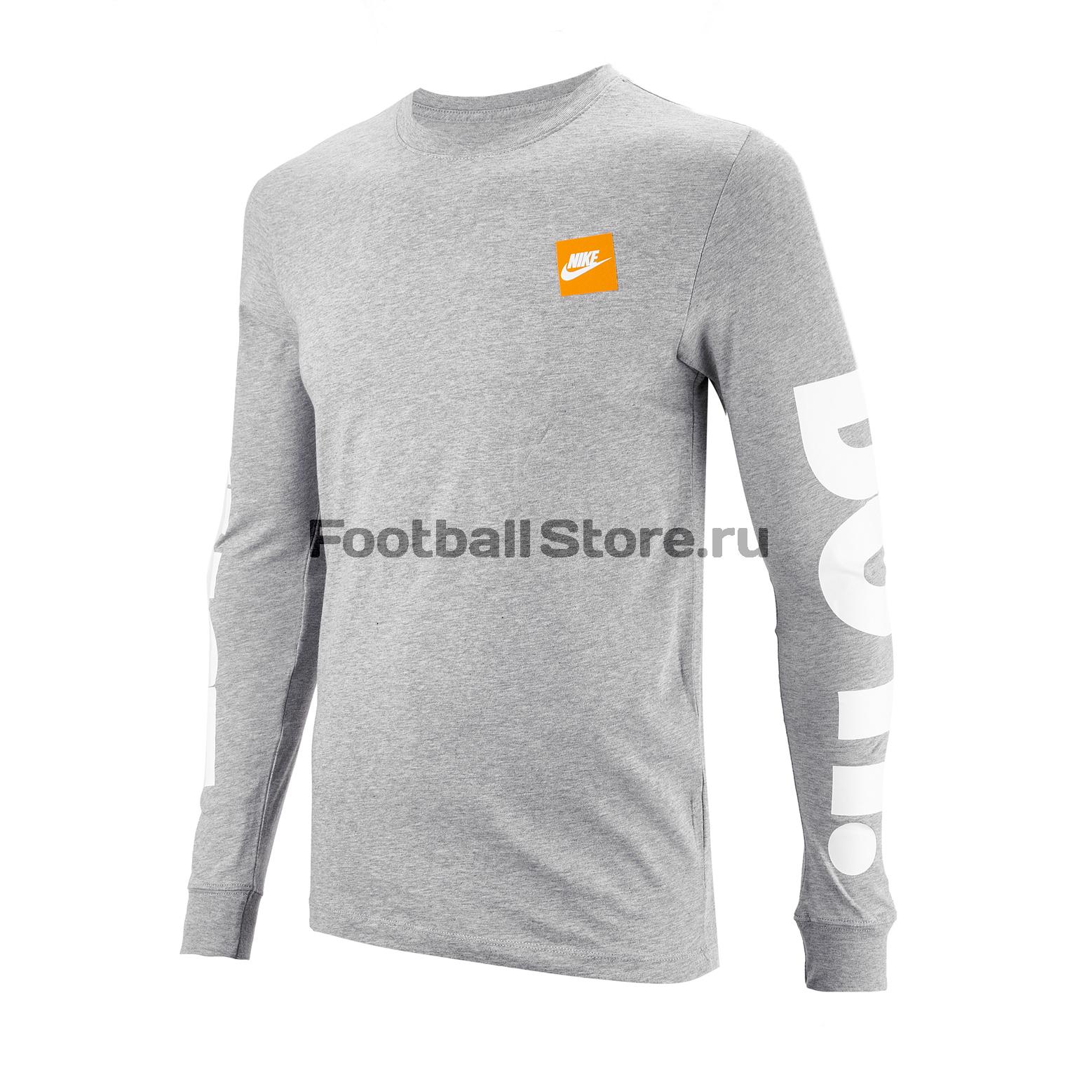 Футболка Nike Tee LS AR5197-063 футболка just do it nike