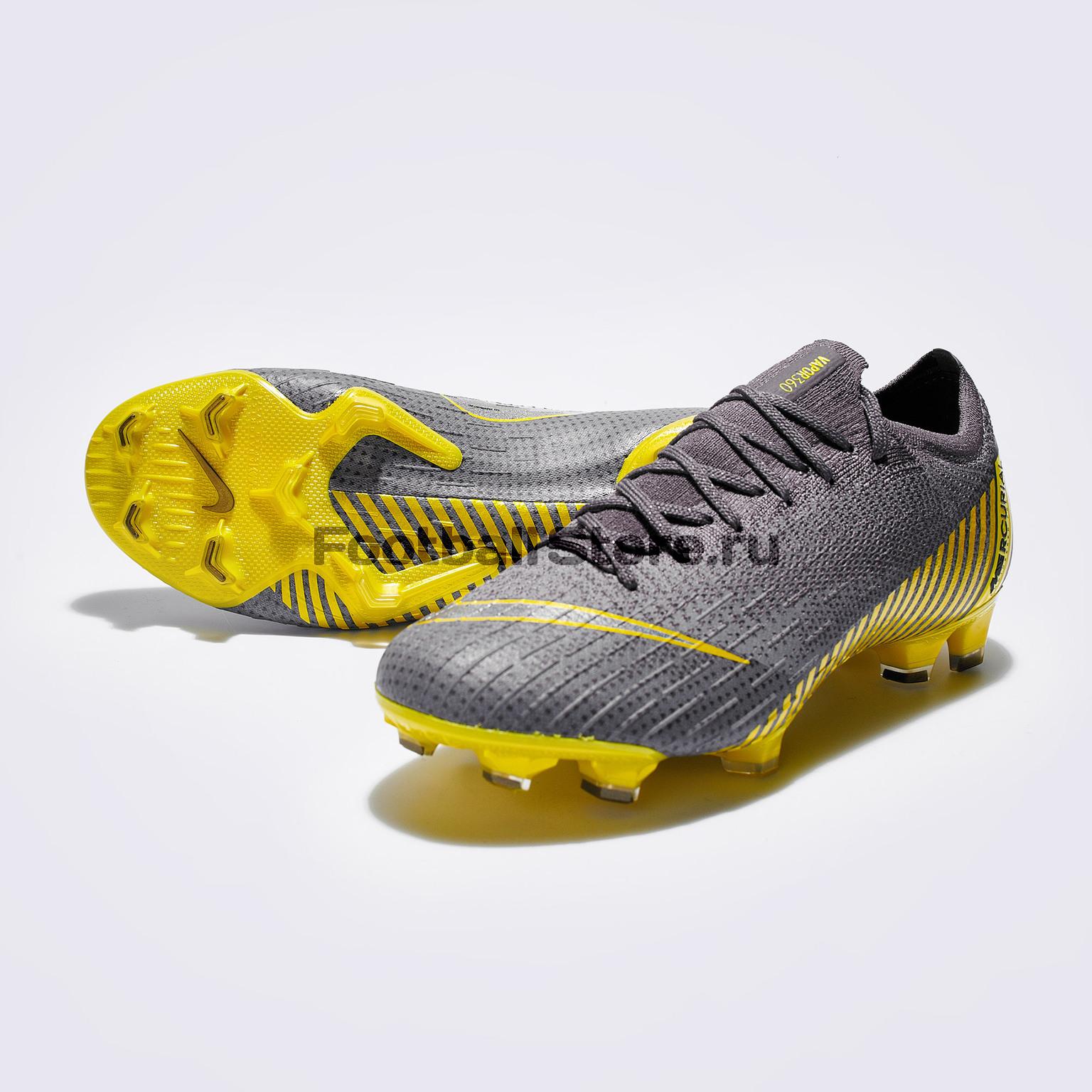 Бутсы Nike Vapor 12 Elite FG AH7380-070 бутсы nike mercurial victory iii fg 509128 800