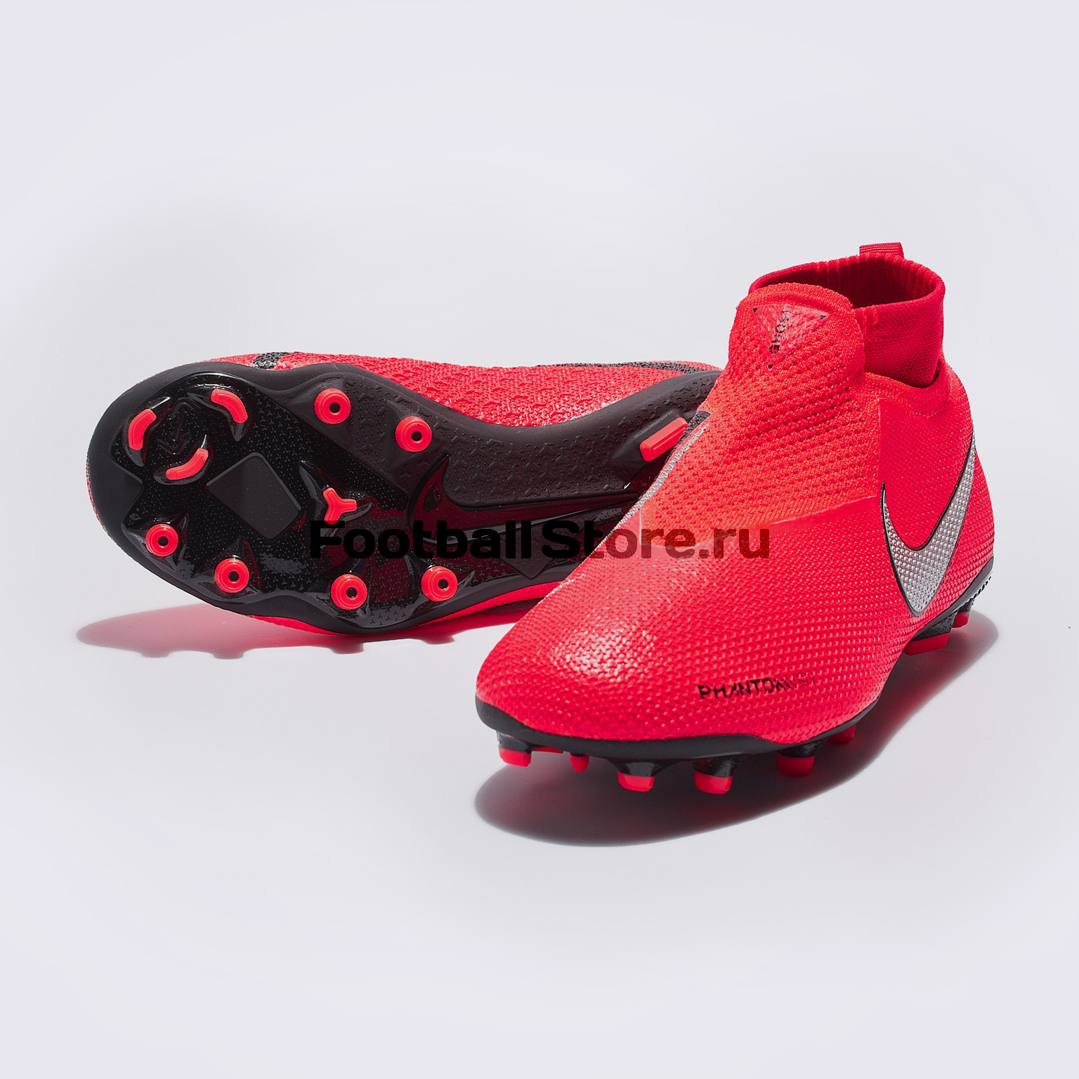 Бутсы детские Nike Phantom Vision Elite DF FG/MG AO3289-600 бутсы nike hypervenom 3 elite df fg aj3803 600