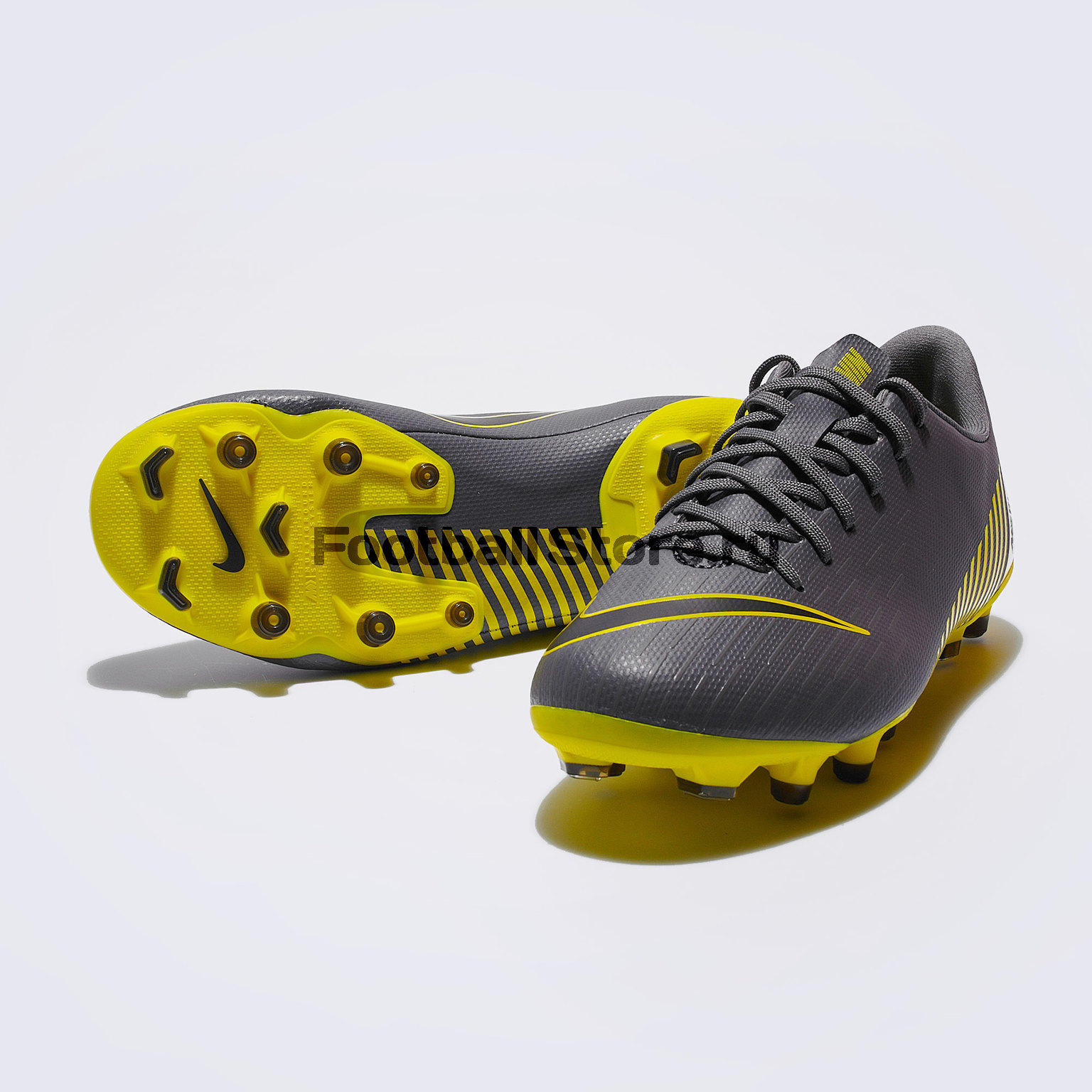 Бутсы детские Nike Vapor 12 Academy GS FG/MG AH7347-070 бутсы детские nike superfly 6 academy gs fg mg ah7337 060