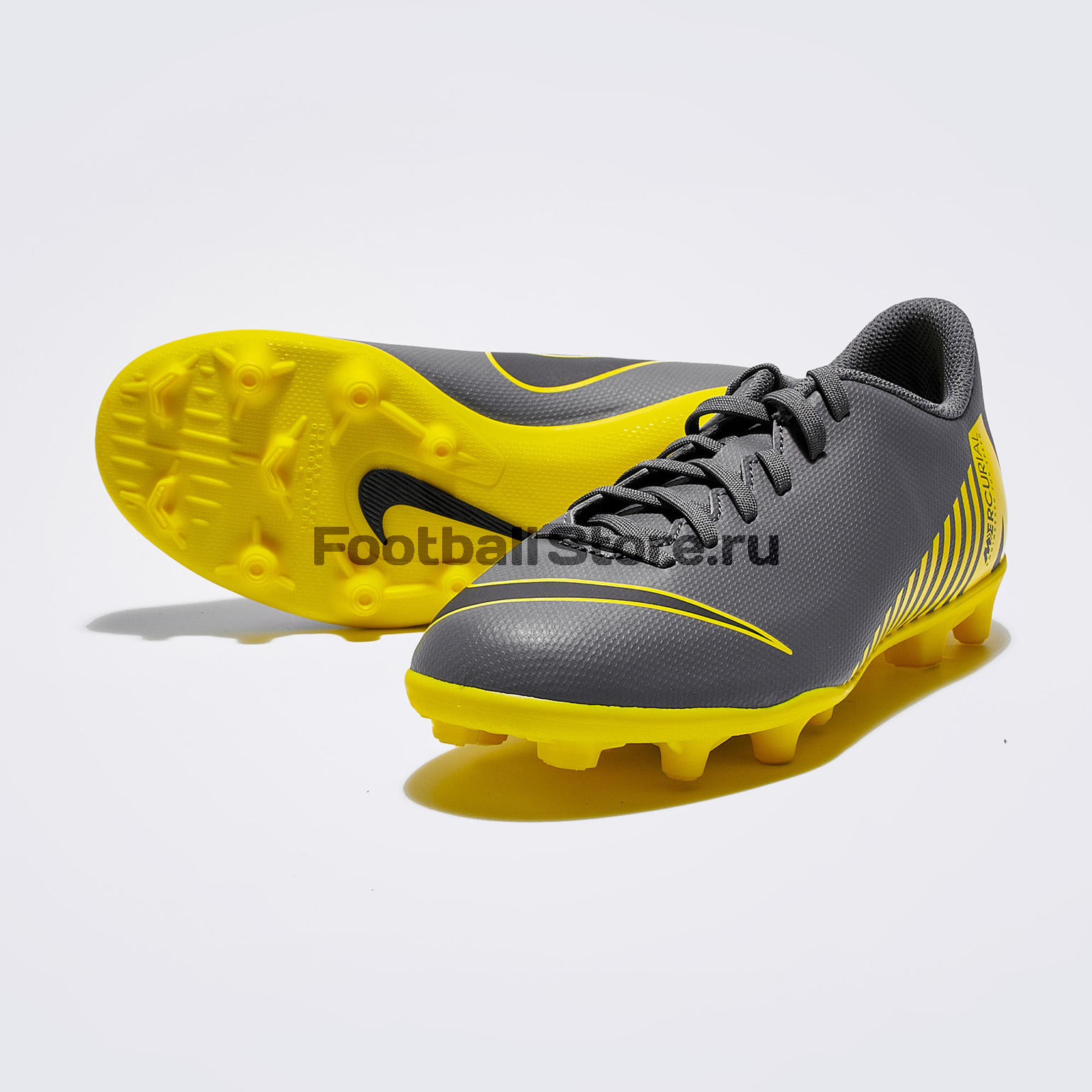 Бутсы детские Nike Vapor 12 Club GS FG/MG AH7350-070 бутсы nike mercurial vapor cr7 fg 684860 014