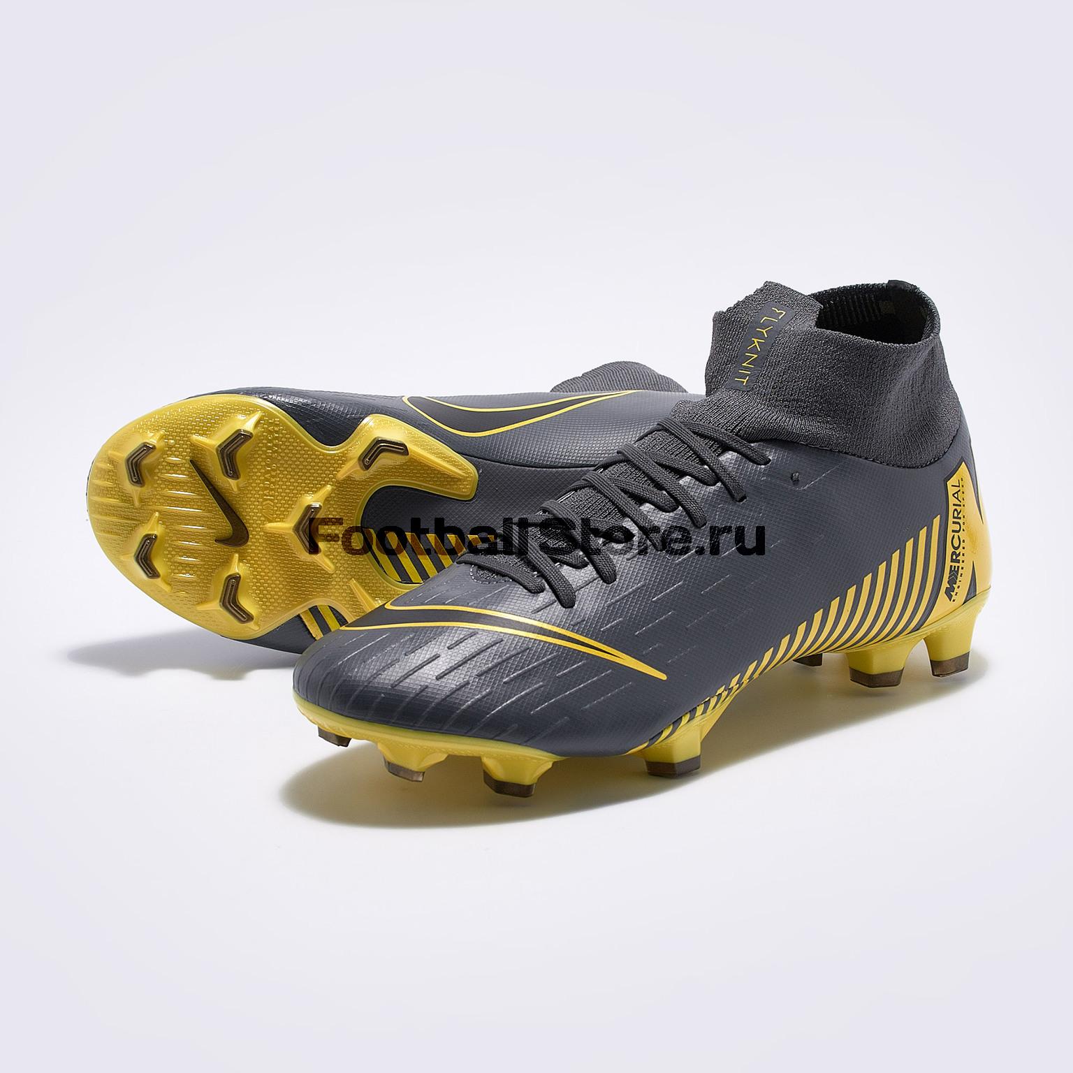 Бутсы Nike Superfly 6 Pro FG AH7368-070 цена