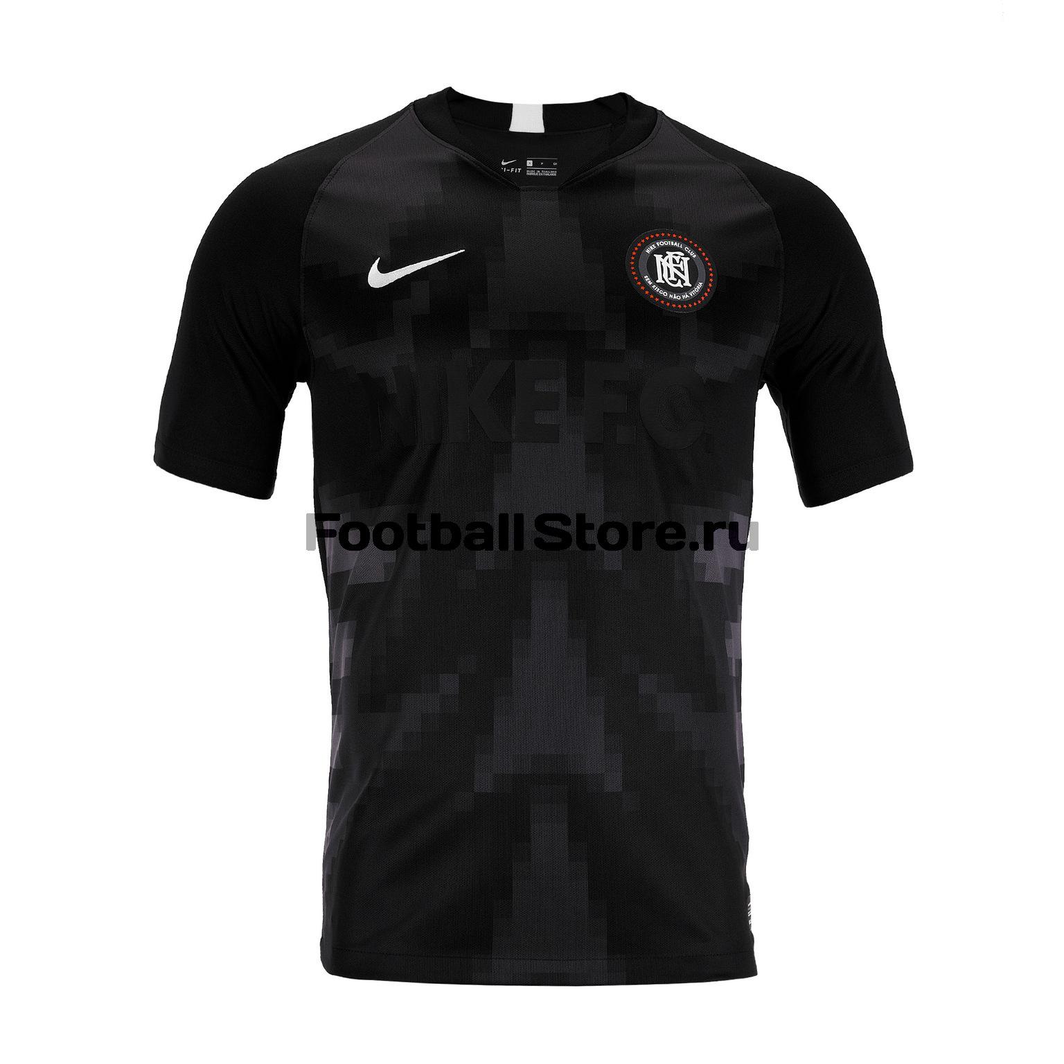 Футболка Nike F.C.Home AO0666-010 брендовая одежда