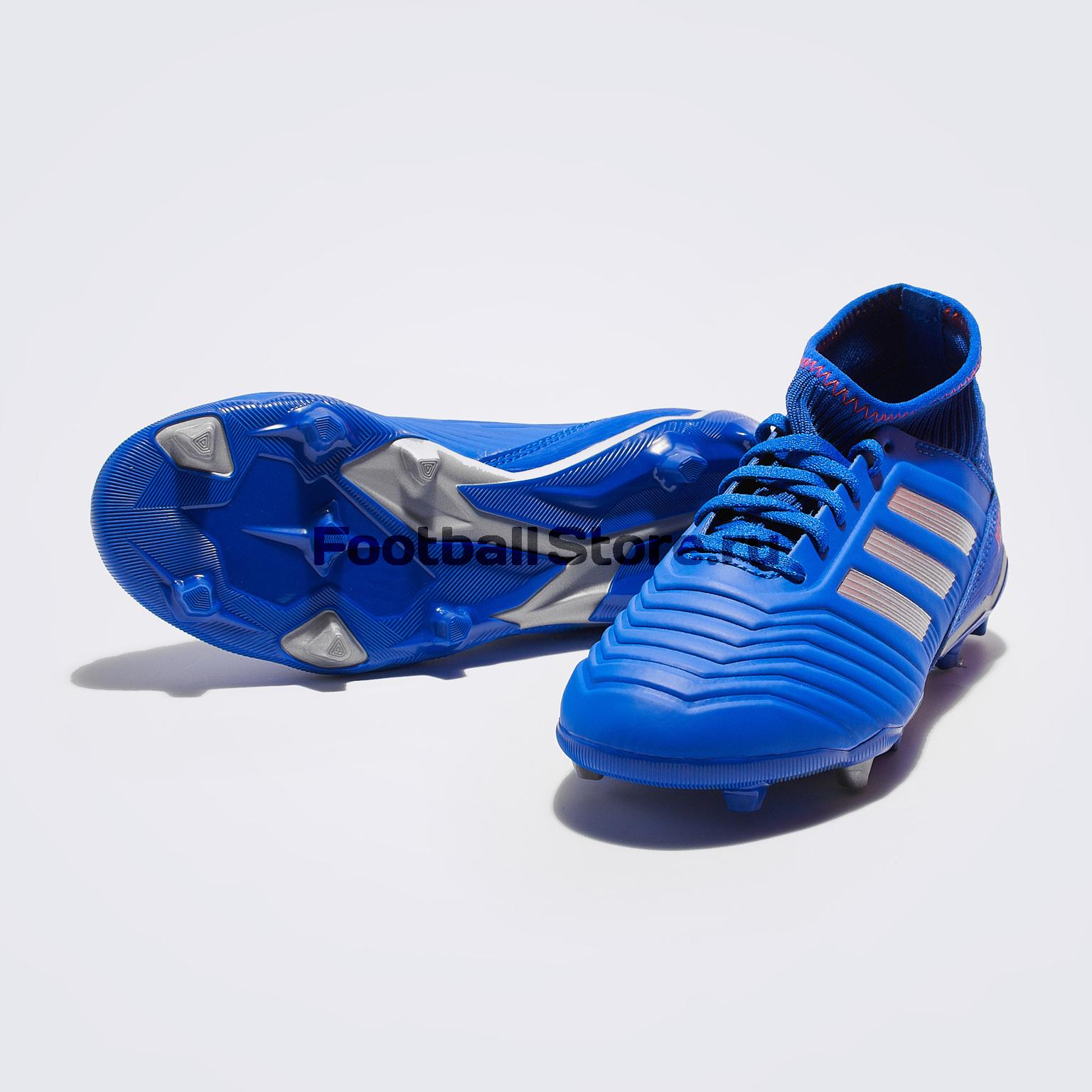 Бутсы детские Adidas Predator 19.3 FG CM8533 бутсы adidas messi 16 1 fg jr bb3852