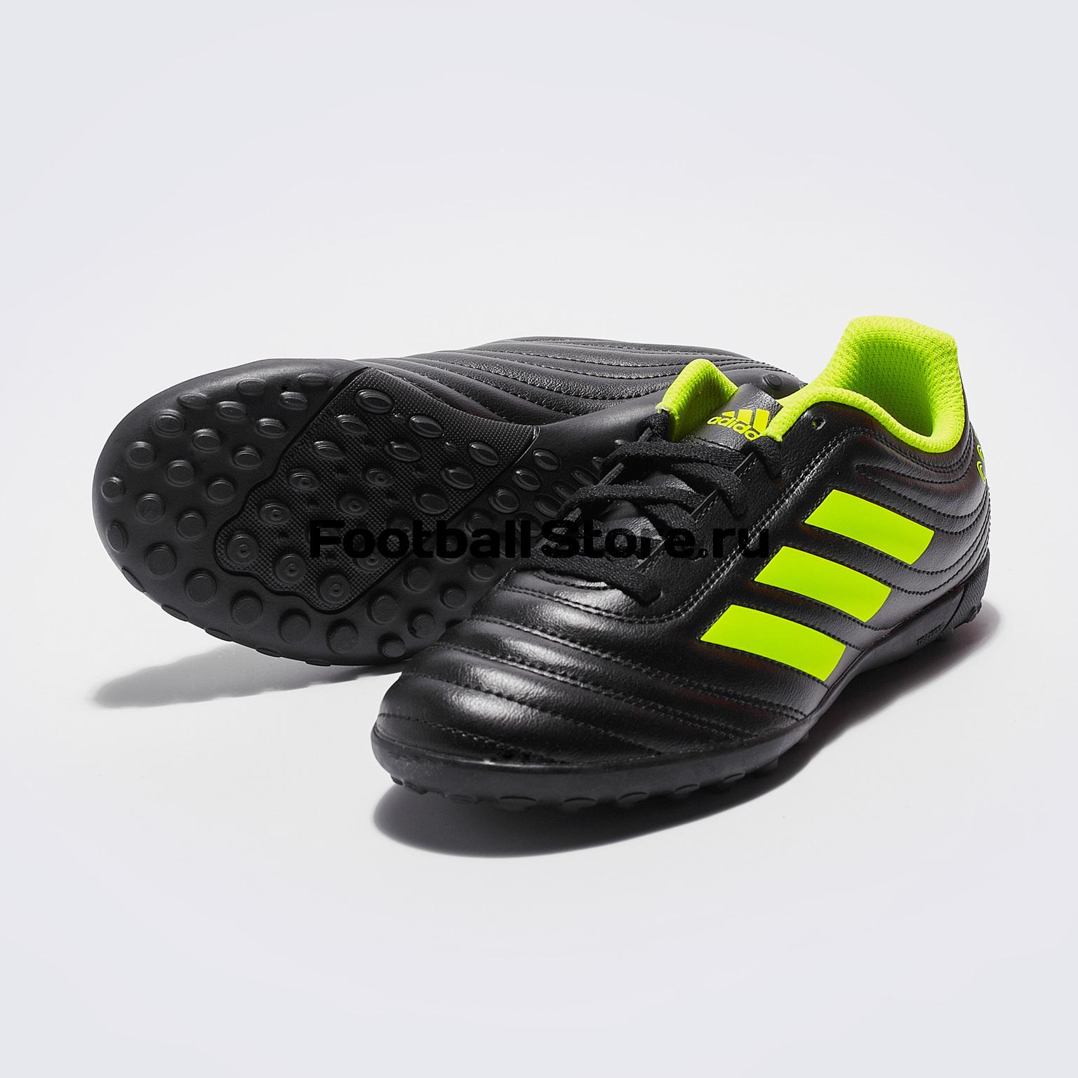 Шиповки детские Adidas Copa 19.4 TF D98100 adidas шиповки adidas ace 16 3 primemesh tf aq2564